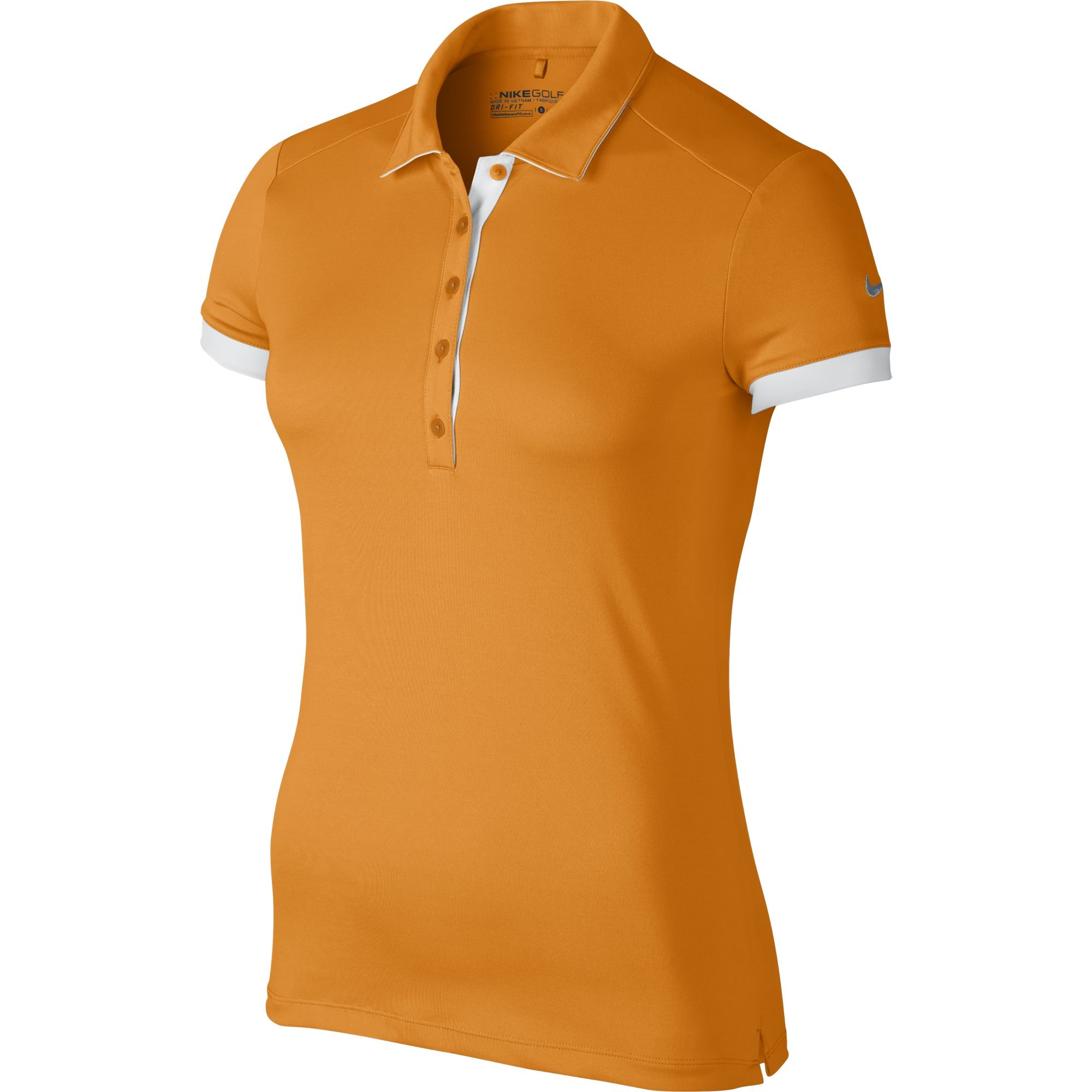 af7aa4f3a215 Details about Nike Golf CLOSEOUT Women s Victory Colorblock Polo ORANGE  725583-873 Was  55