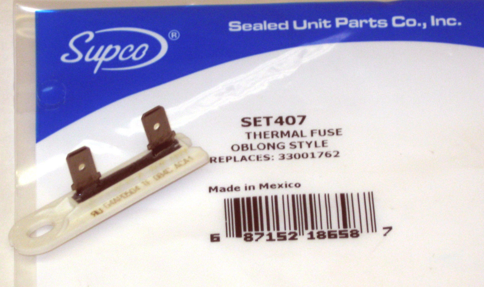 Set407 For Maytag Dryer Thermal Fuse Limit 33001762
