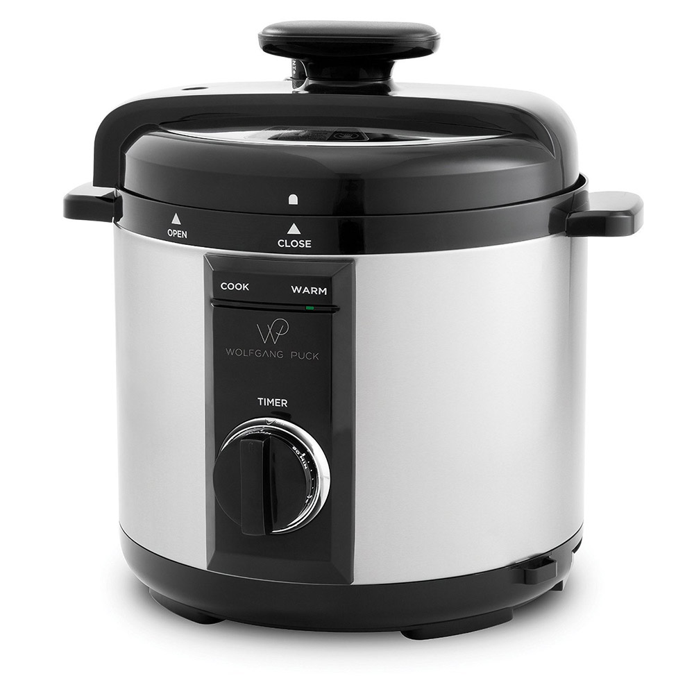 Wolfgang Puck Rice Cooker ~ Wolfgang puck automatic pressure cooker with removable