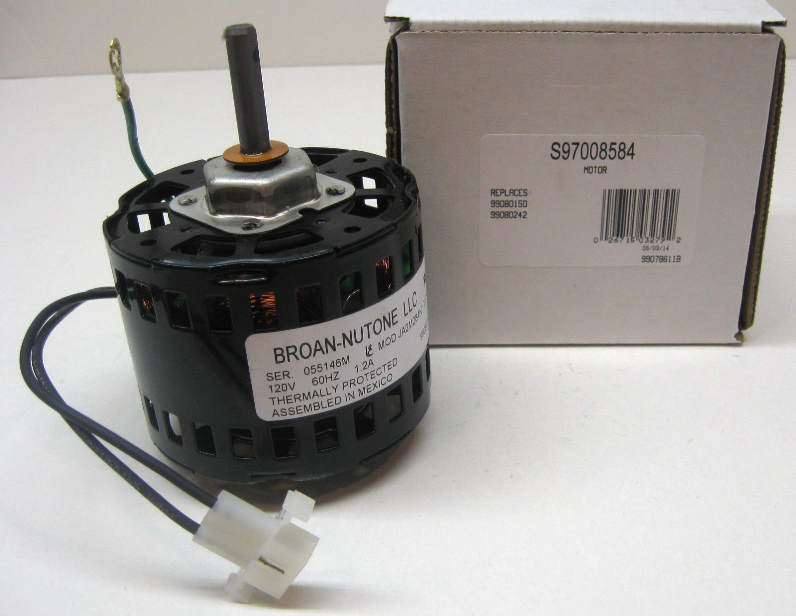97008584 Bathroom Fan Vent Motor For Broan Nutone