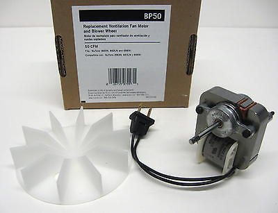 Bp50 Broan Nutone Vent Bath Fan Motor For Model 663n 663ln