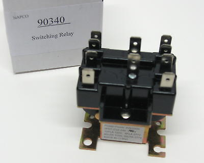 90 340 Switching Relay DPDT 24 Volt Coil also replaces