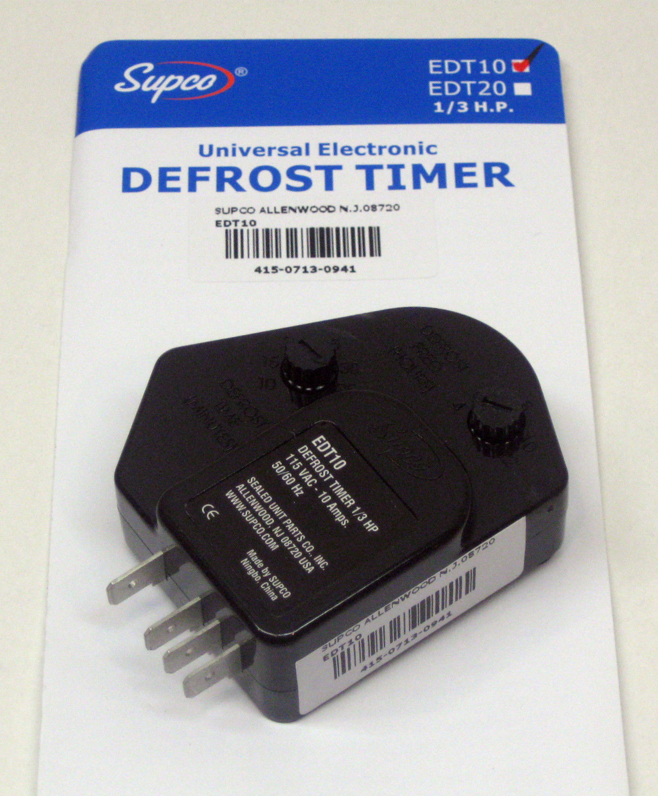 Supco Defrost Timer Wiring Diagram