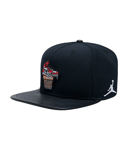 Nike Mens Jordan Ice Cream Pack Snapback Hat Black 789504-010 ... 8bb78d4dd25