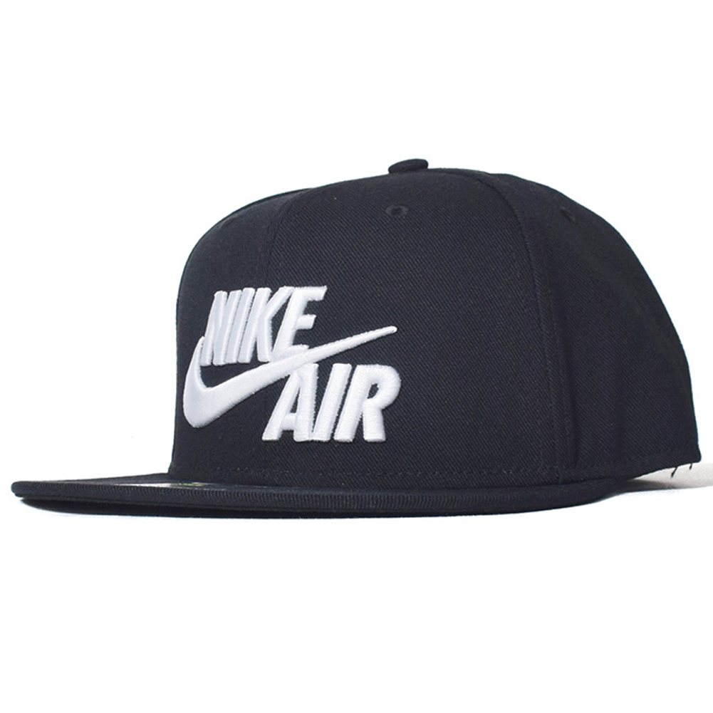 Details about Nike Mens Air True Snapback Hat Black White c86b0e85125
