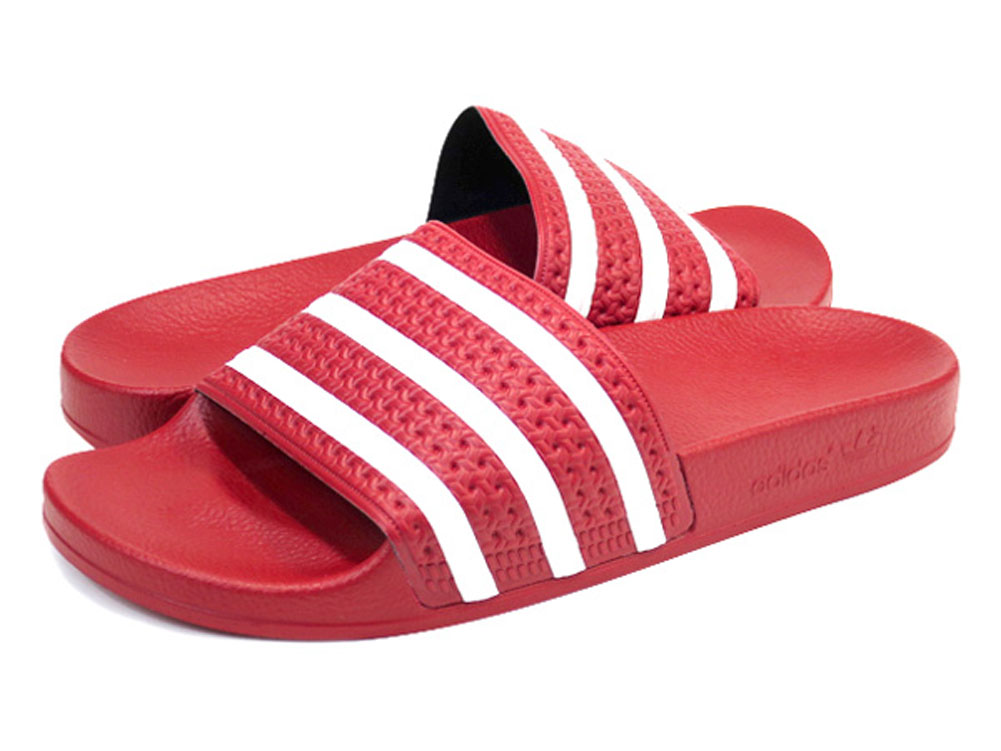 2ef511d51f9 Buy adidas originals adilette mens red   OFF71% Discounted