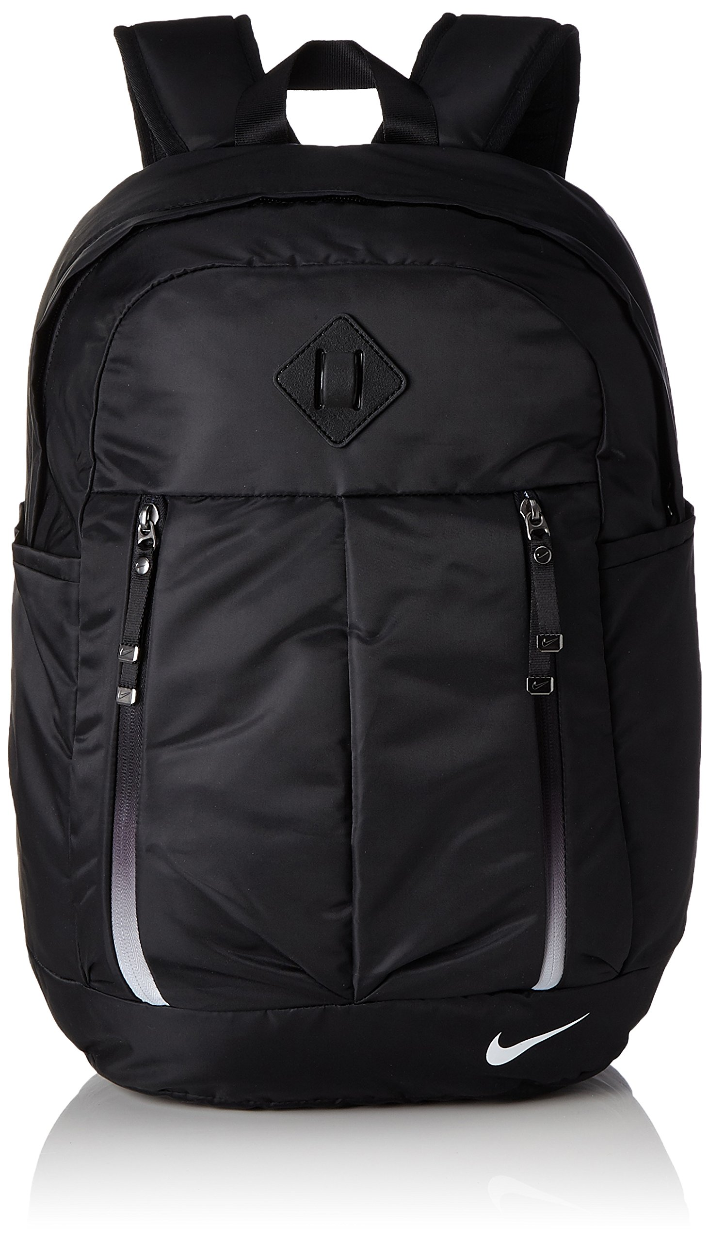 Women s Nike Aura Backpack features a zippered main compartment large  enough to carry your workout essentials and laptop 8b3dd6a285
