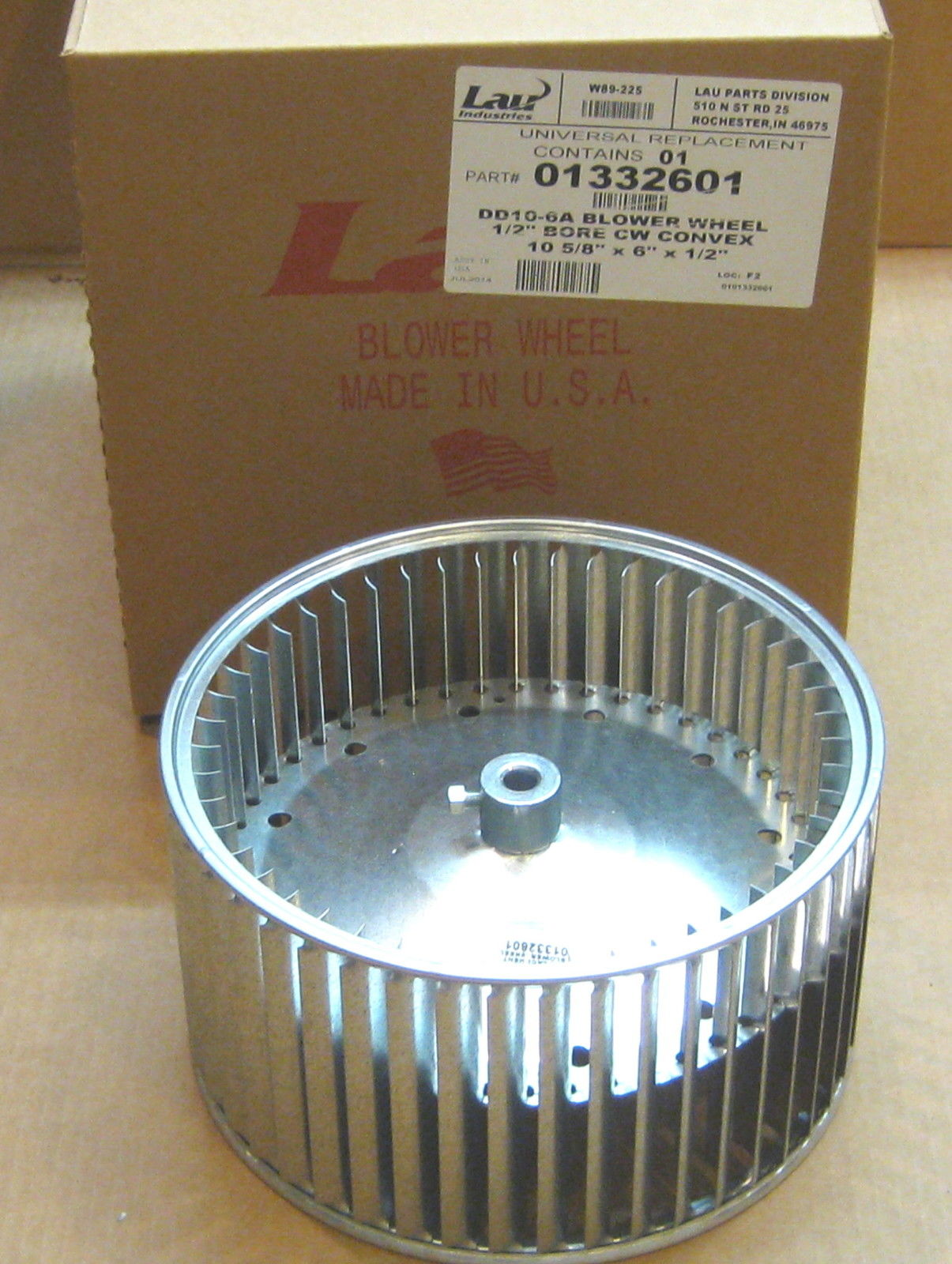 Squirrel Cage Fan Blades : Lau dd a blower wheel squirrel cage quot