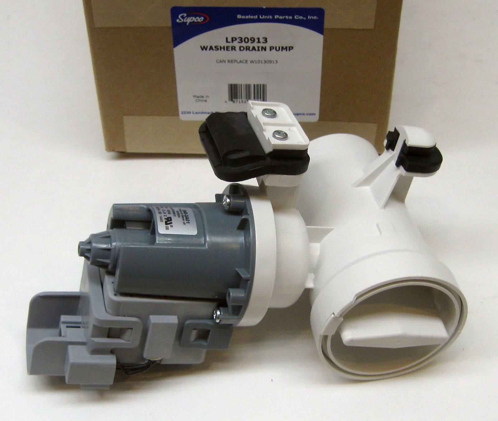 Washing Machine Drain Pump For Whirlpool W10130913