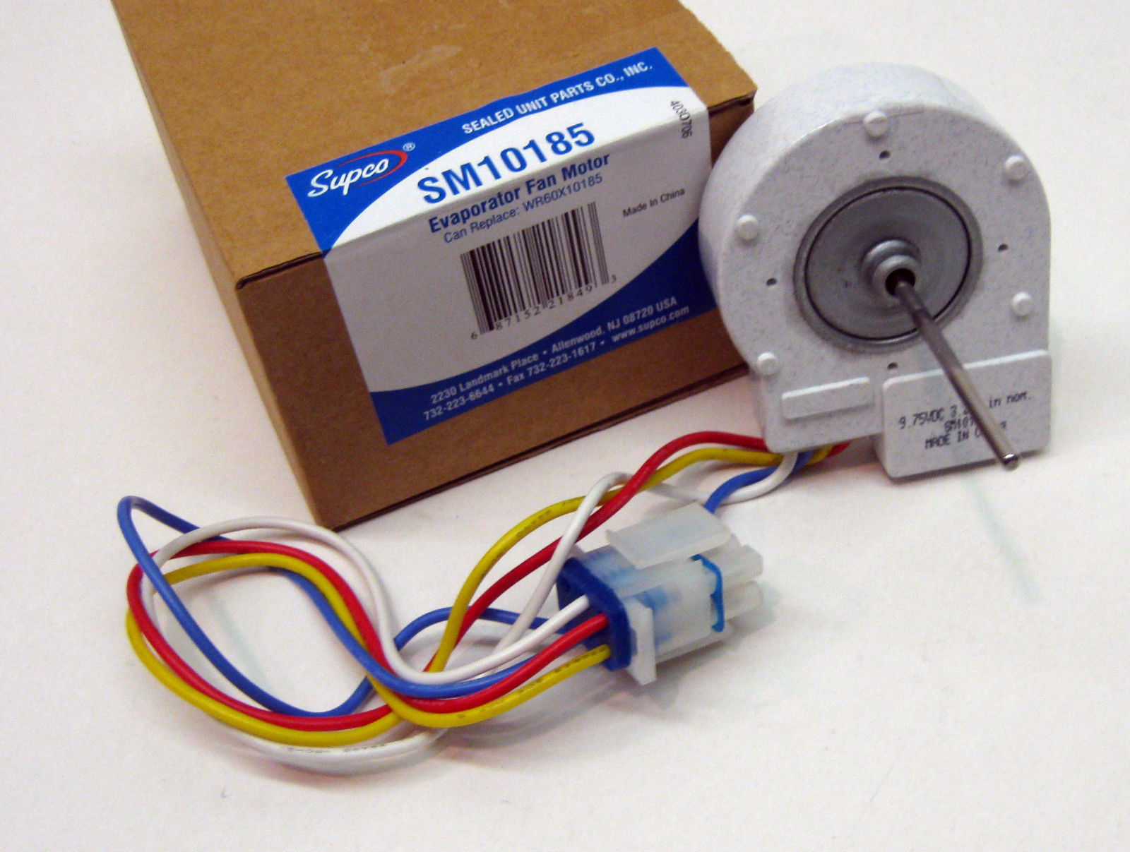 Sm10185 For Wr60x10185 Ge Evaporator Freezer Fan Motor