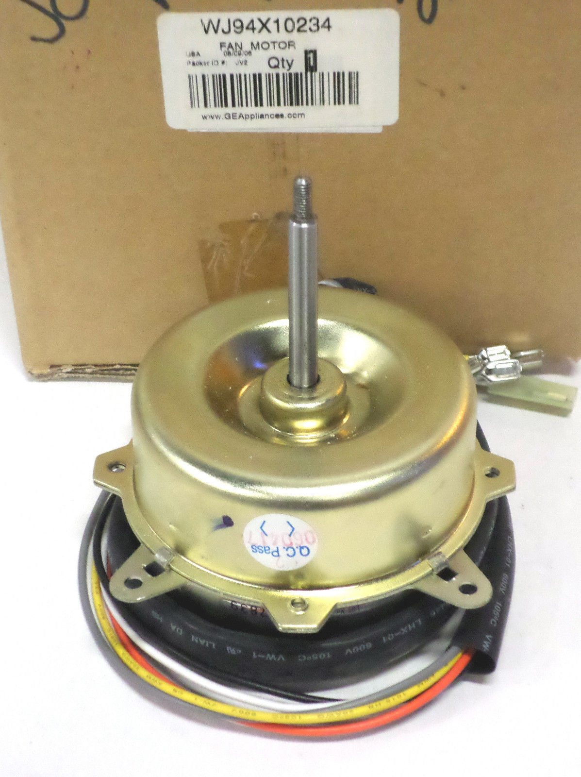 wj94x10234 ge air conditioner fan motor ps1021954