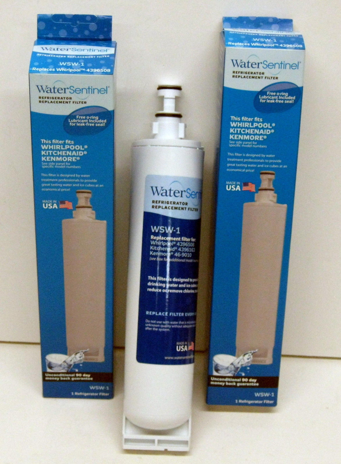 Wsw1 2 Pack Refrigerator Water Filter For Whirlpool