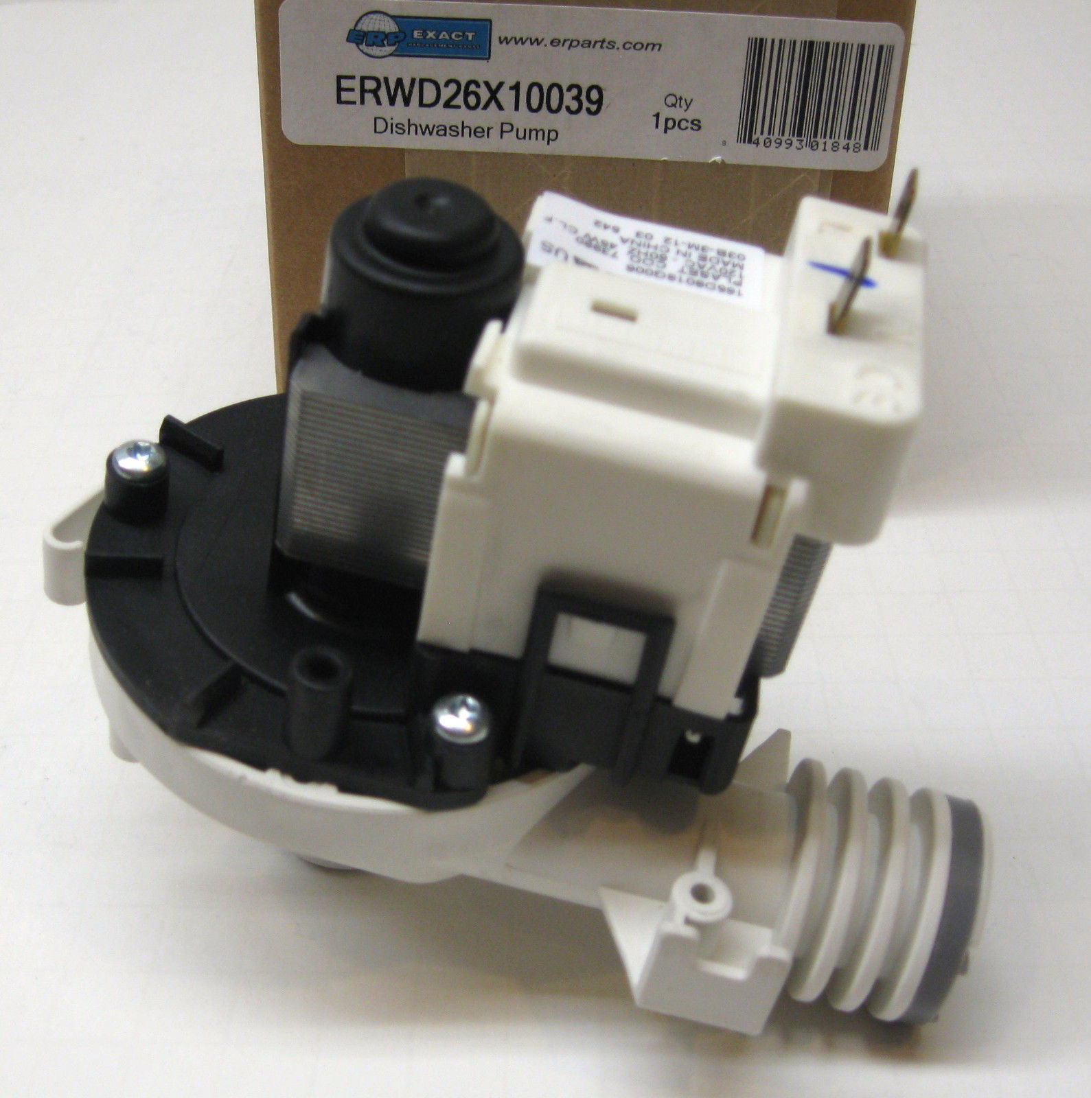wd26x10039 for ge dishwasher drain pump motor also for