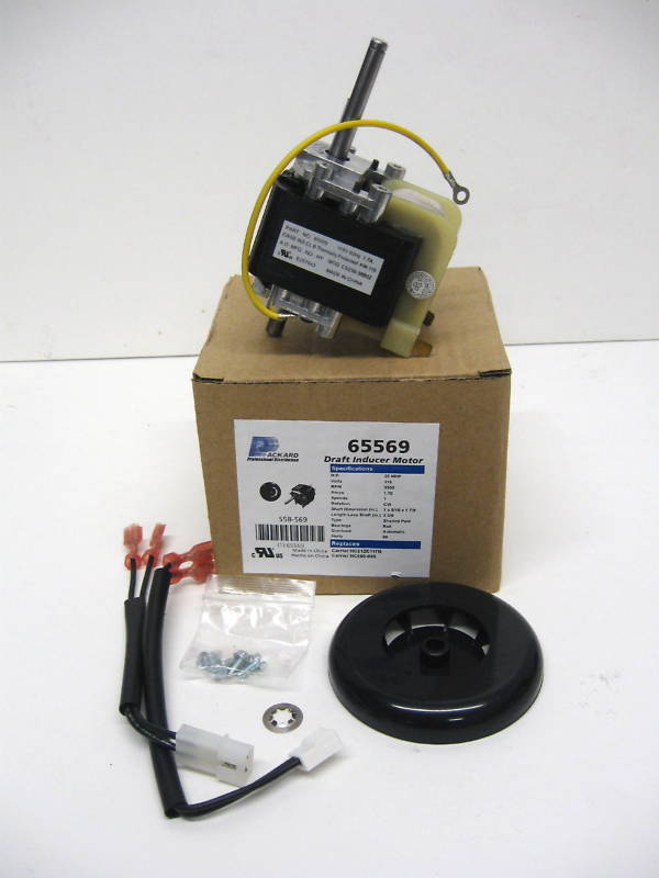 65569 Furnace Draft Inducer Blower Motor For Carrier