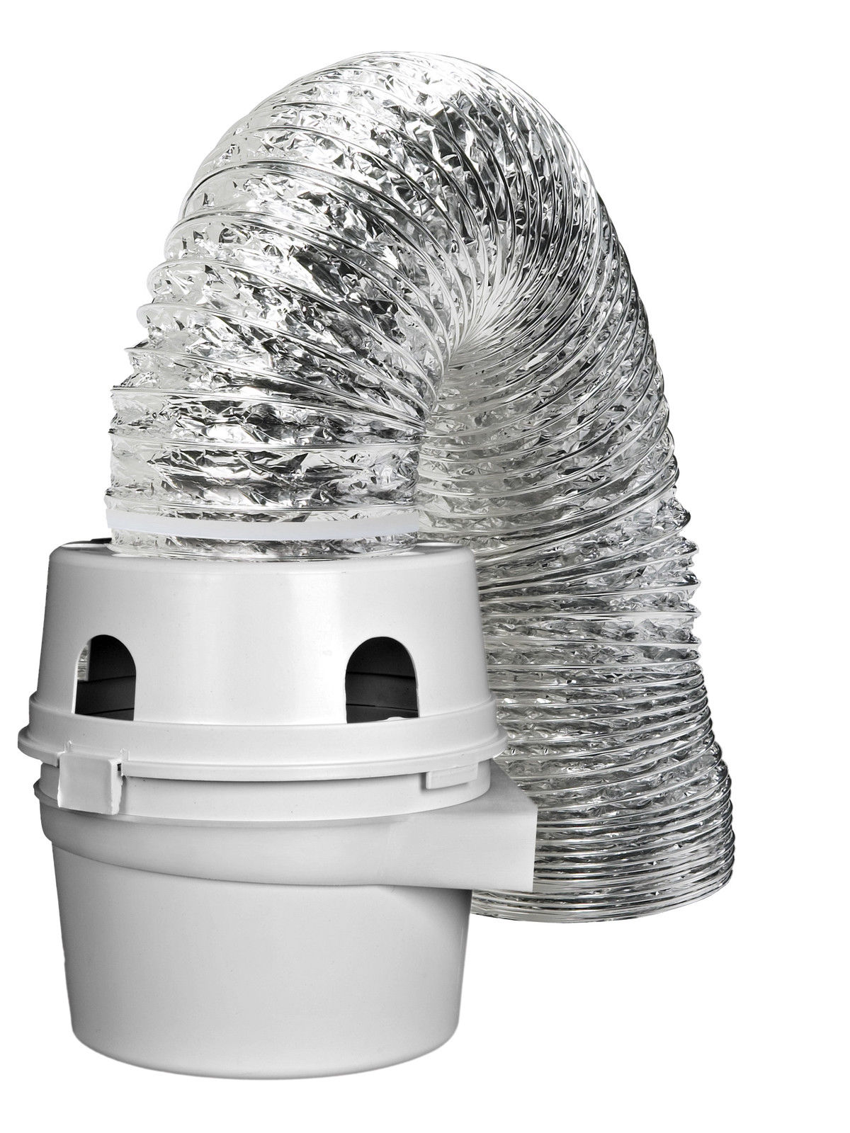 Tdidvkzw Dryer Indoor Vent Bucket Kit Aluminum Flex 4 Quot X 5