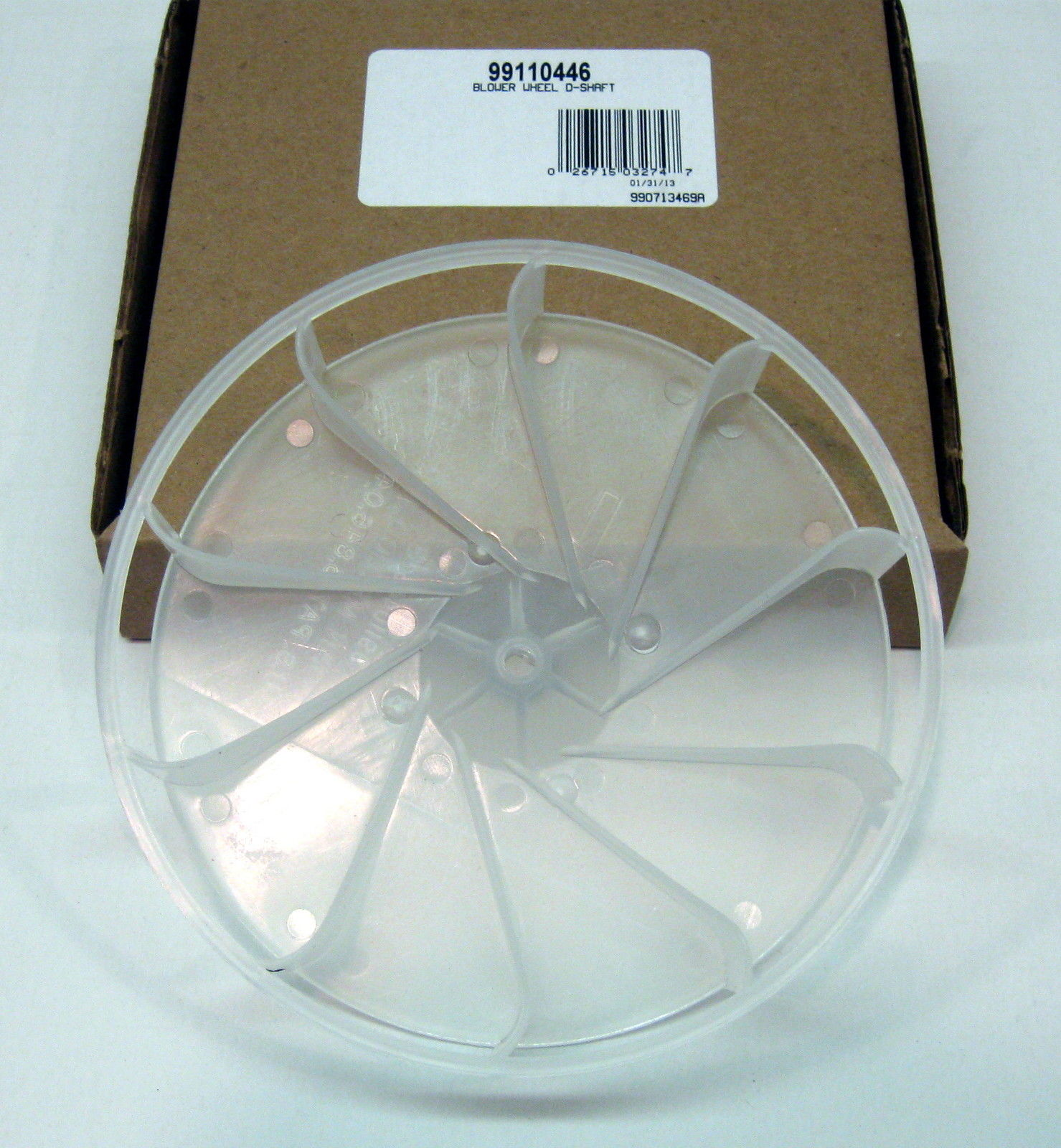 Squirrel Cage Fan Blades : Broan nutone vent fan blower wheel plastic