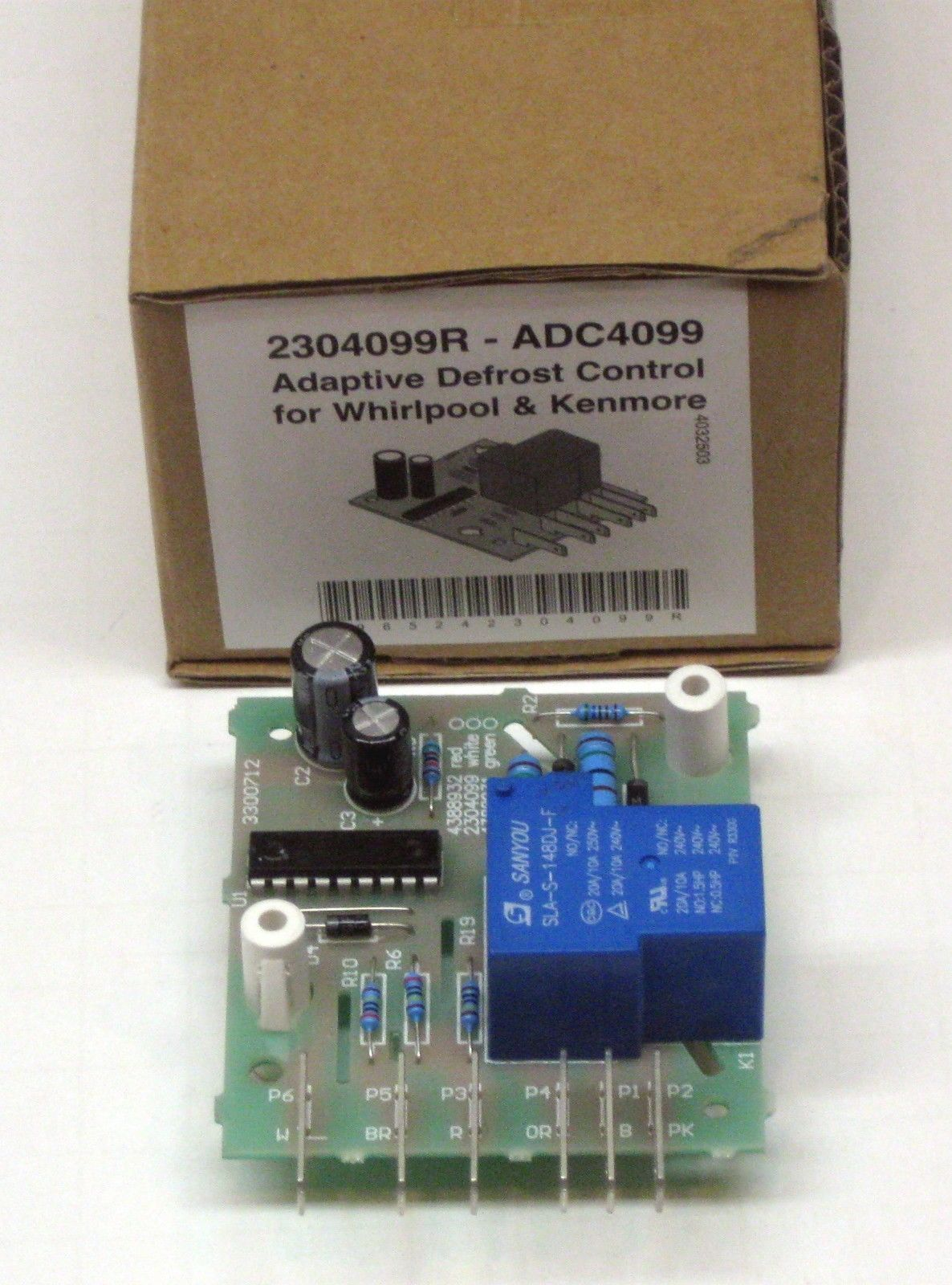 Refrigerator Adaptive Defrost Control Board For Whirlpool