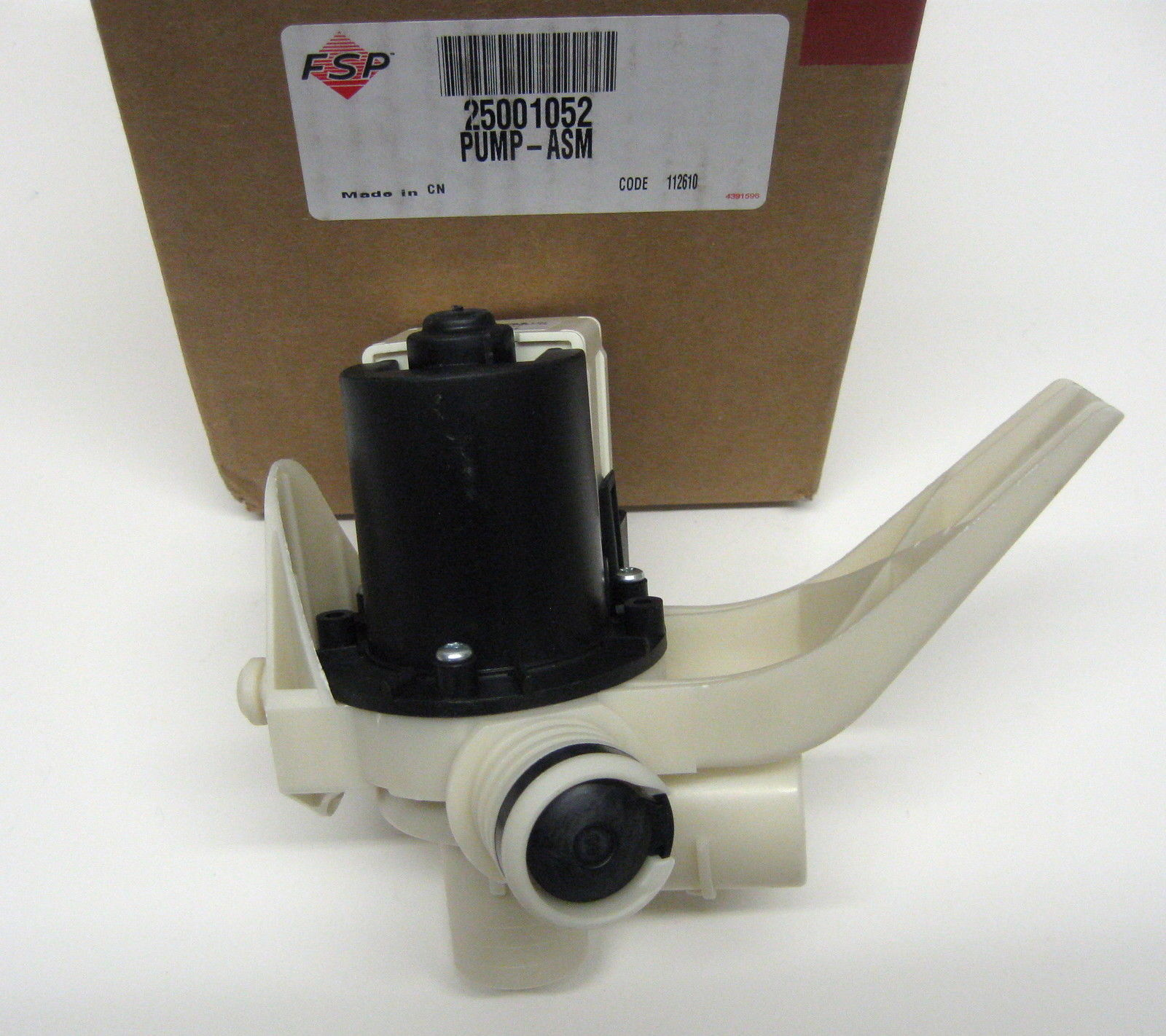 Wp25001052 Whirlpool Maytag Washer Water Drain Pump Motor