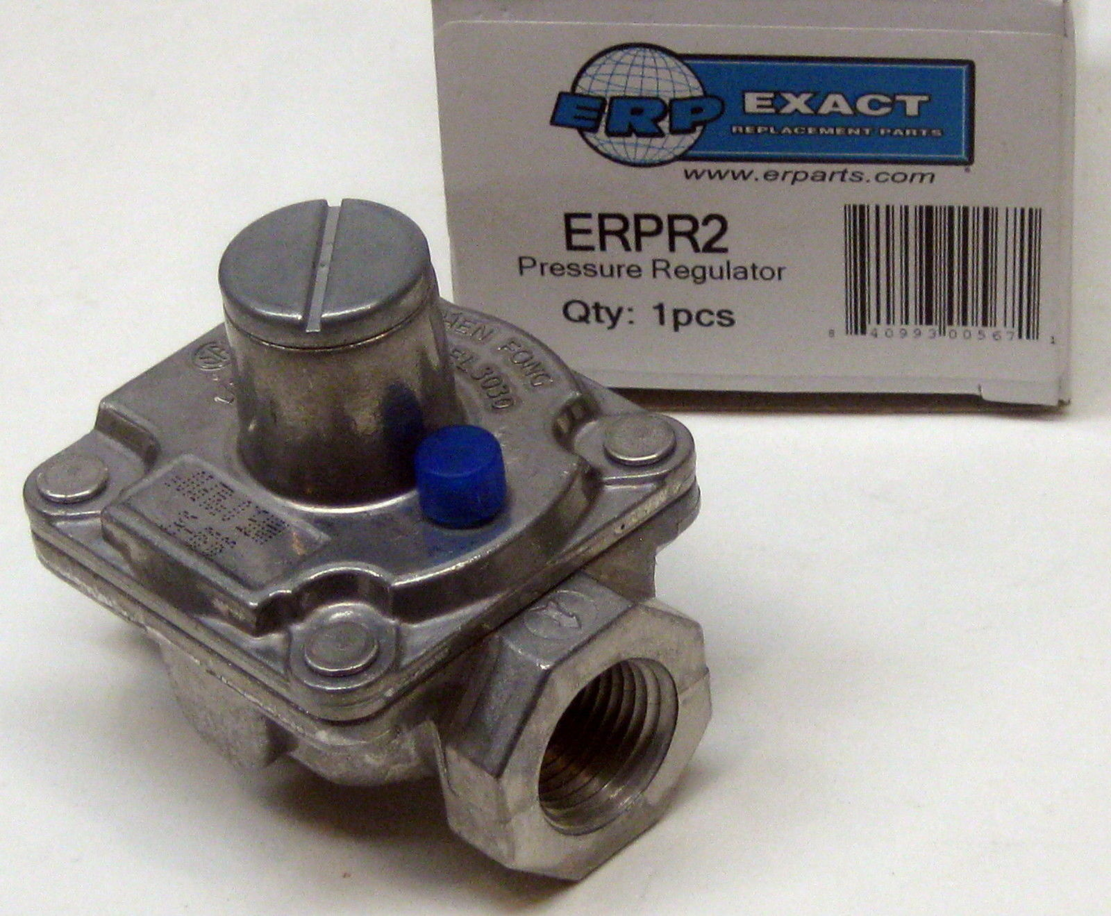 Gas Pressure Regulator 1 2 Quot X 1 2 Quot Natural 5 Quot Lp 10 Quot Erpr2