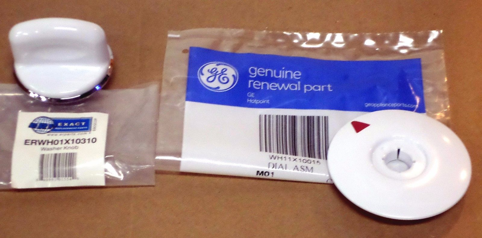 Combo Pack Ge Washer Wh01x10310 Timer Knob Amp Wh11x10015