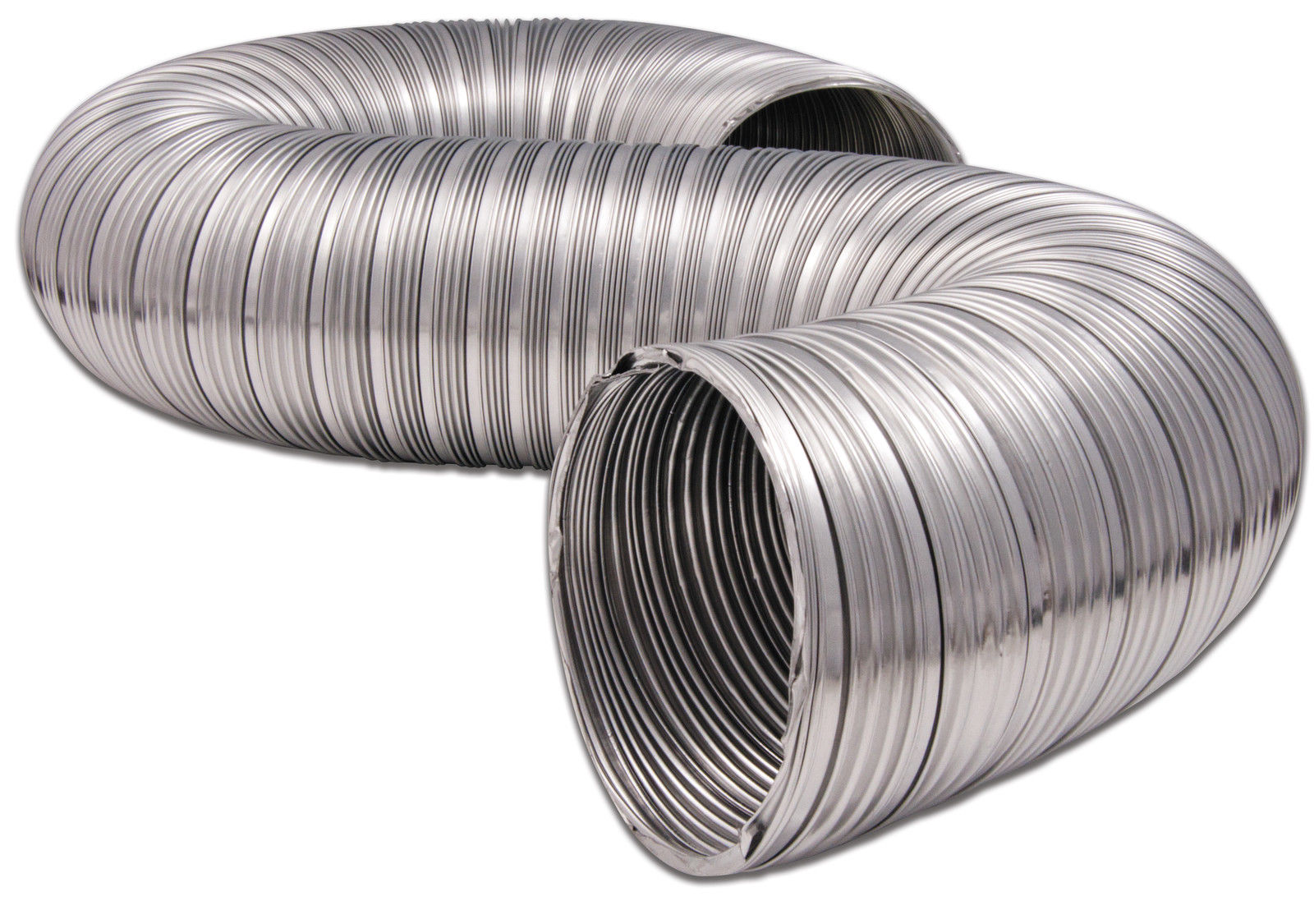 8 Ventilation Duct : Mfx quot semi rigid aluminum dryer vent ducting