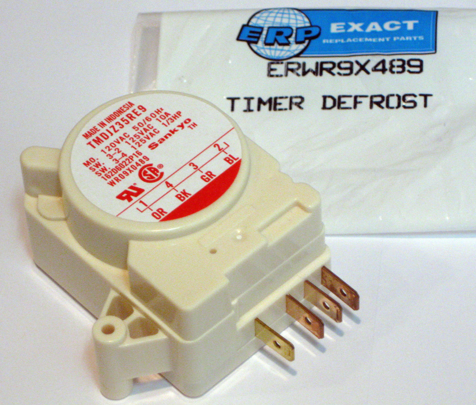 Wr9x489 For Ge Refrigerator Defrost Timer Control