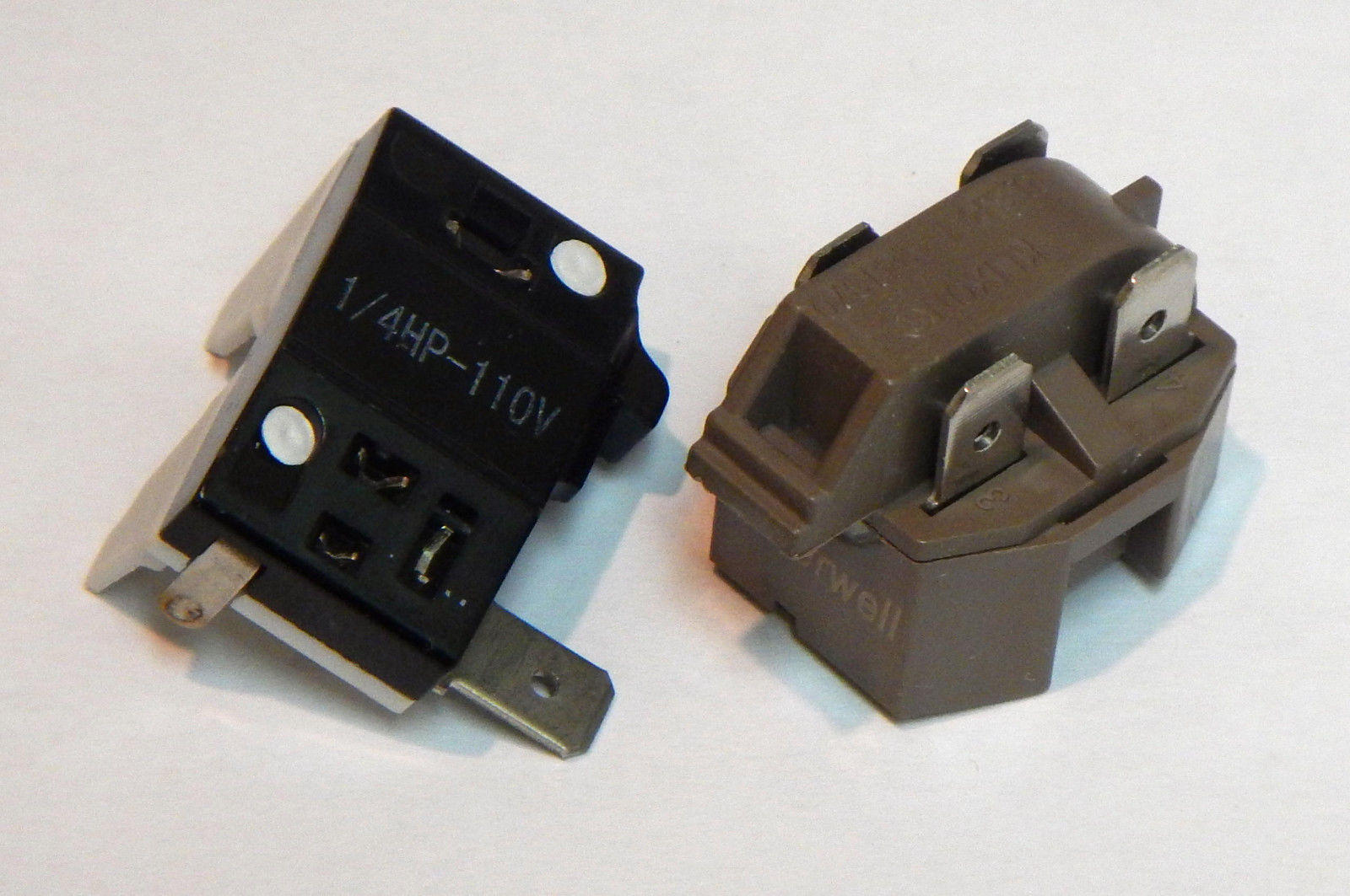 Ic4 4tm14 Refrigerator Relay And Overload For 1 4 Hp