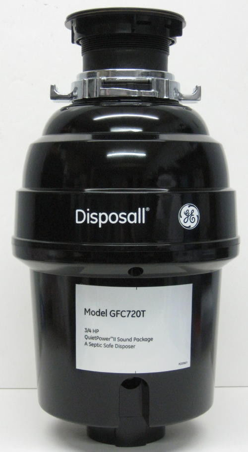 Gfc720 Ge Garbage Disposall Food Waste Disposer 3 4 Hp