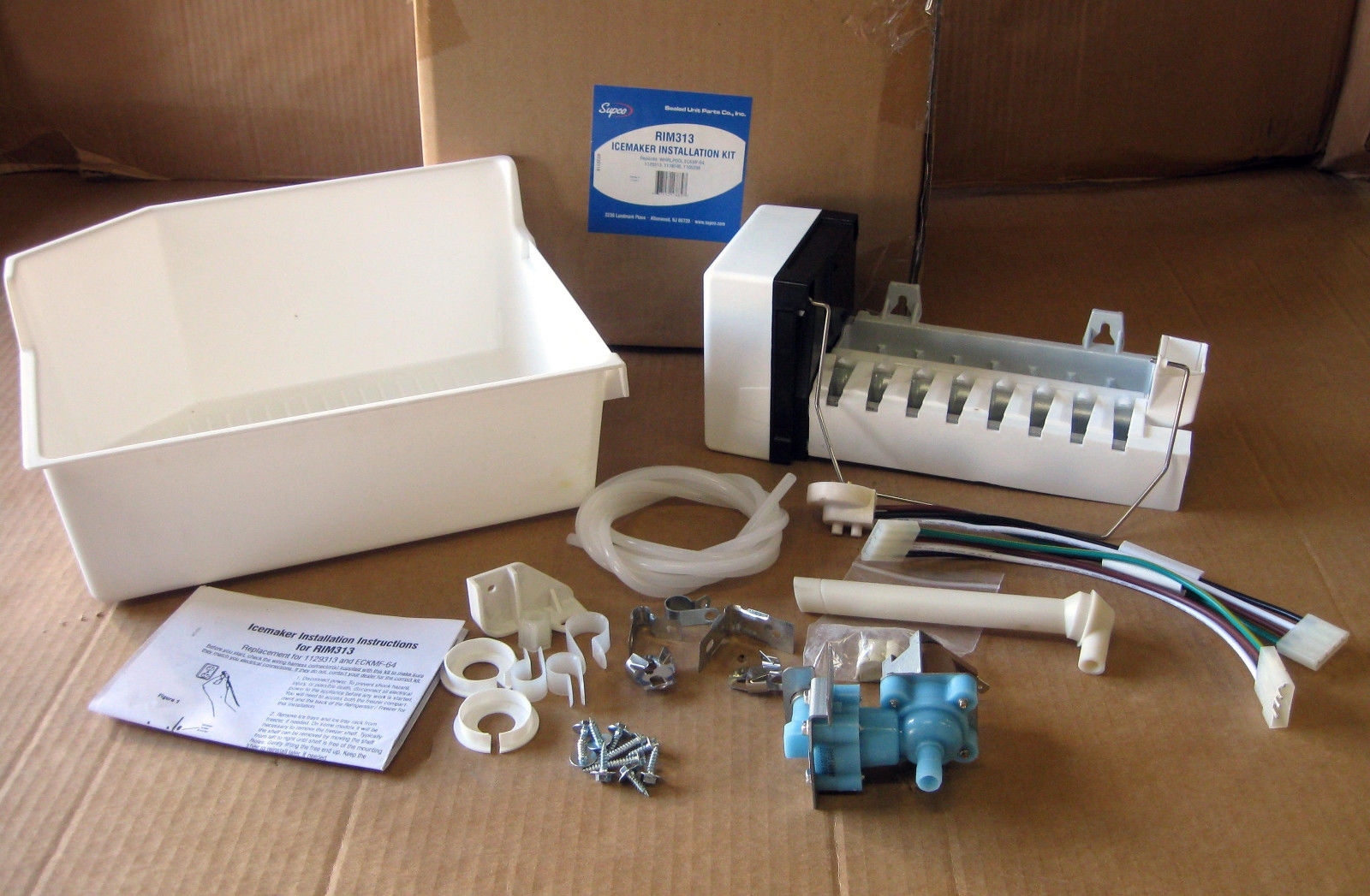 Rim313 For Whirlpool Ice Maker Refrigerator Icemaker Kit