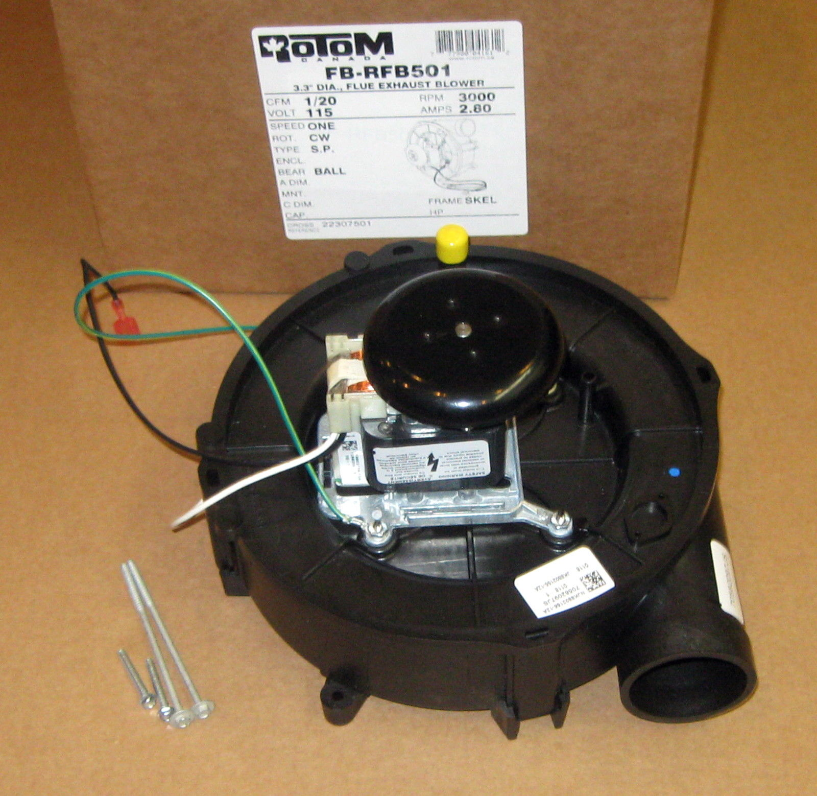 Draft inducer furnace blower motor for goodman 22307501 for Oil for blower motor
