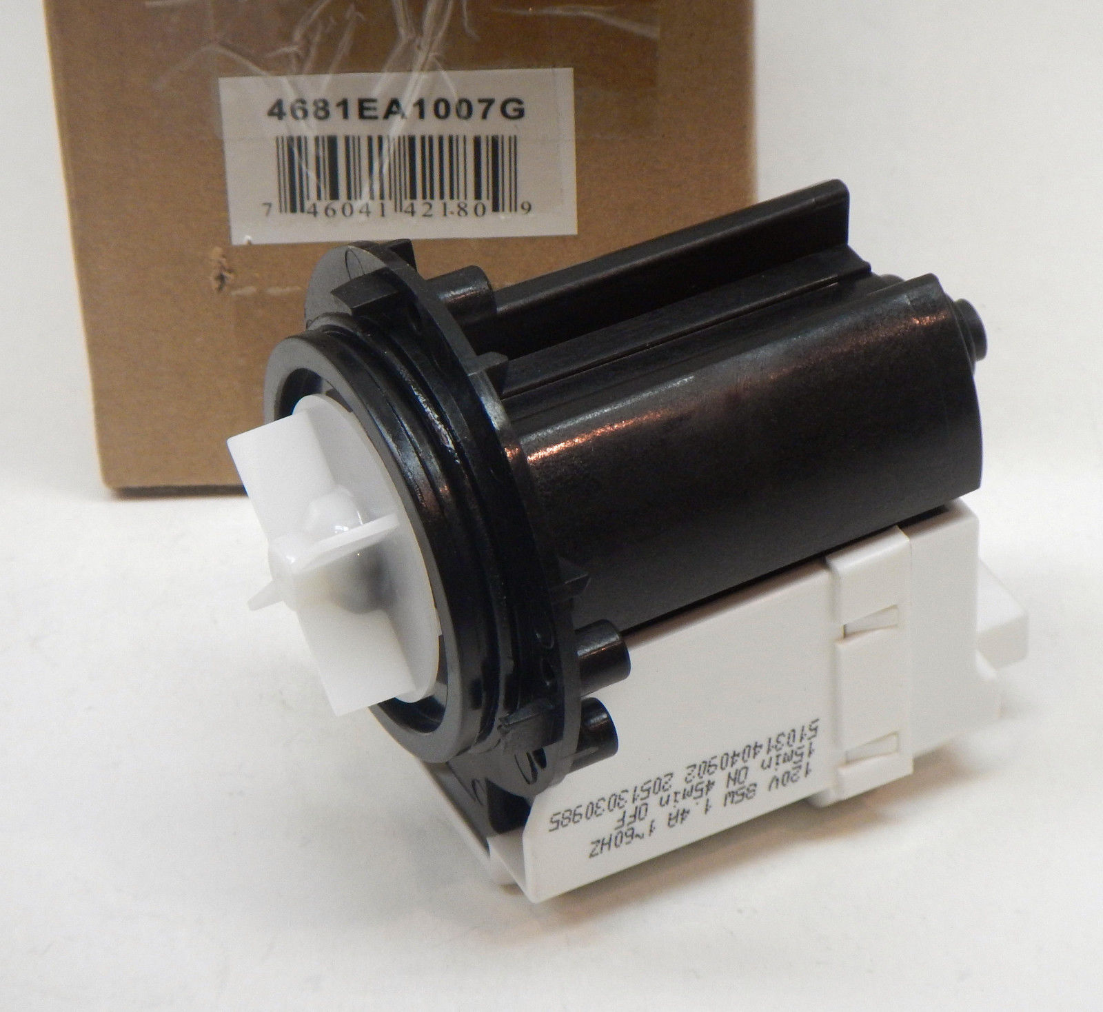 4681ea1007g Water Drain Pump For Lg Washer Washing Machine