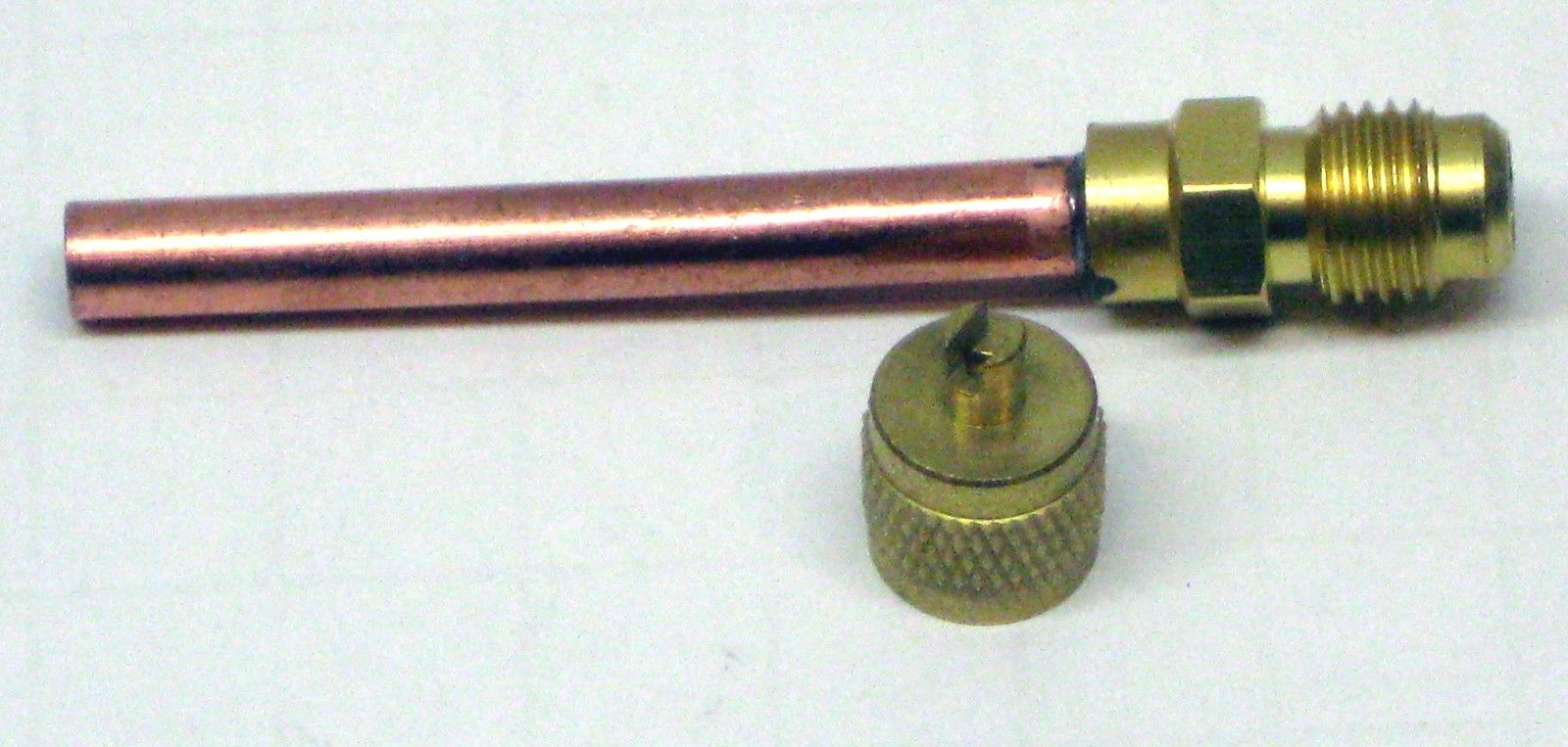 Access fitting quot long with copper tubing ebay