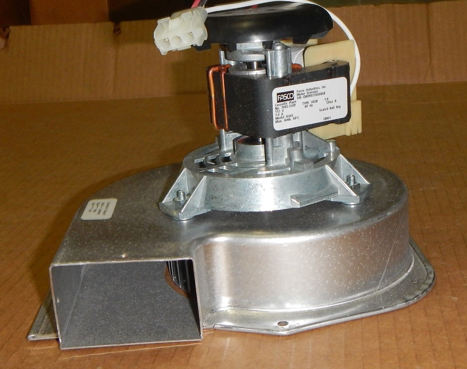 A360 Fasco Furnace Inducer Blower For Trane 7002 3274 7002