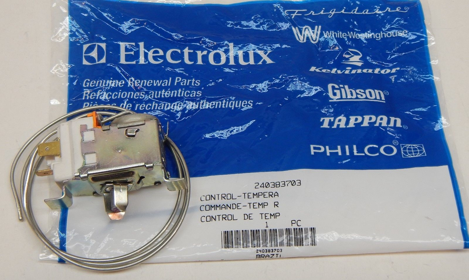 240383703 Electrolux Thermostat Temperature Cold Control