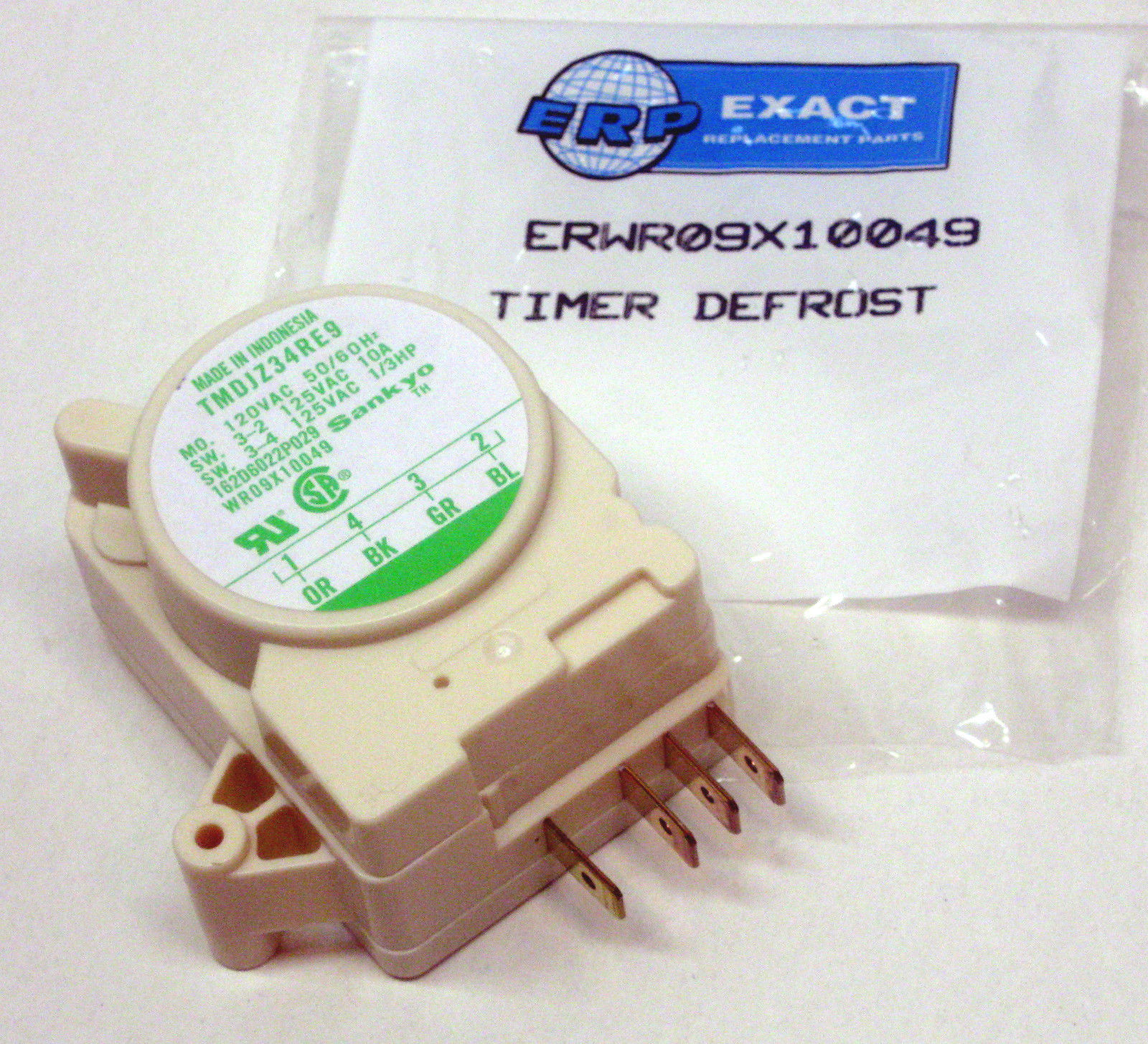 Wr09x10049 For Ge Refrigerator Defrost Timer Control