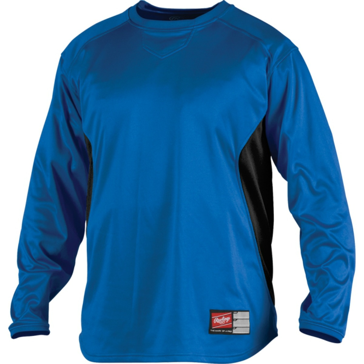 Rawlings UDFP2 Men's Dugout Fleece Baseball Shirt Pullover ...