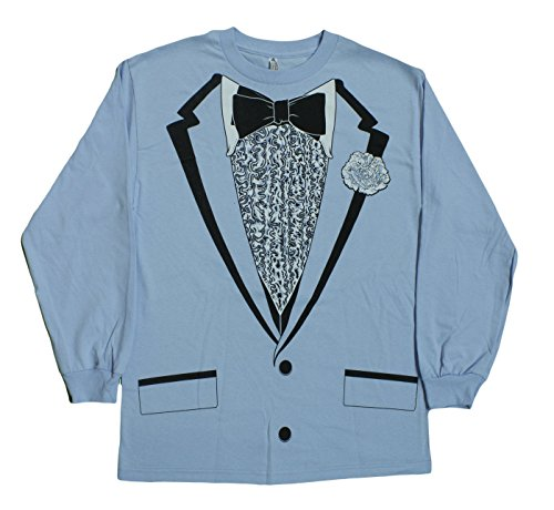 Impact Original Retro Prom Tuxedo Light Blue Long Sleeve | eBay