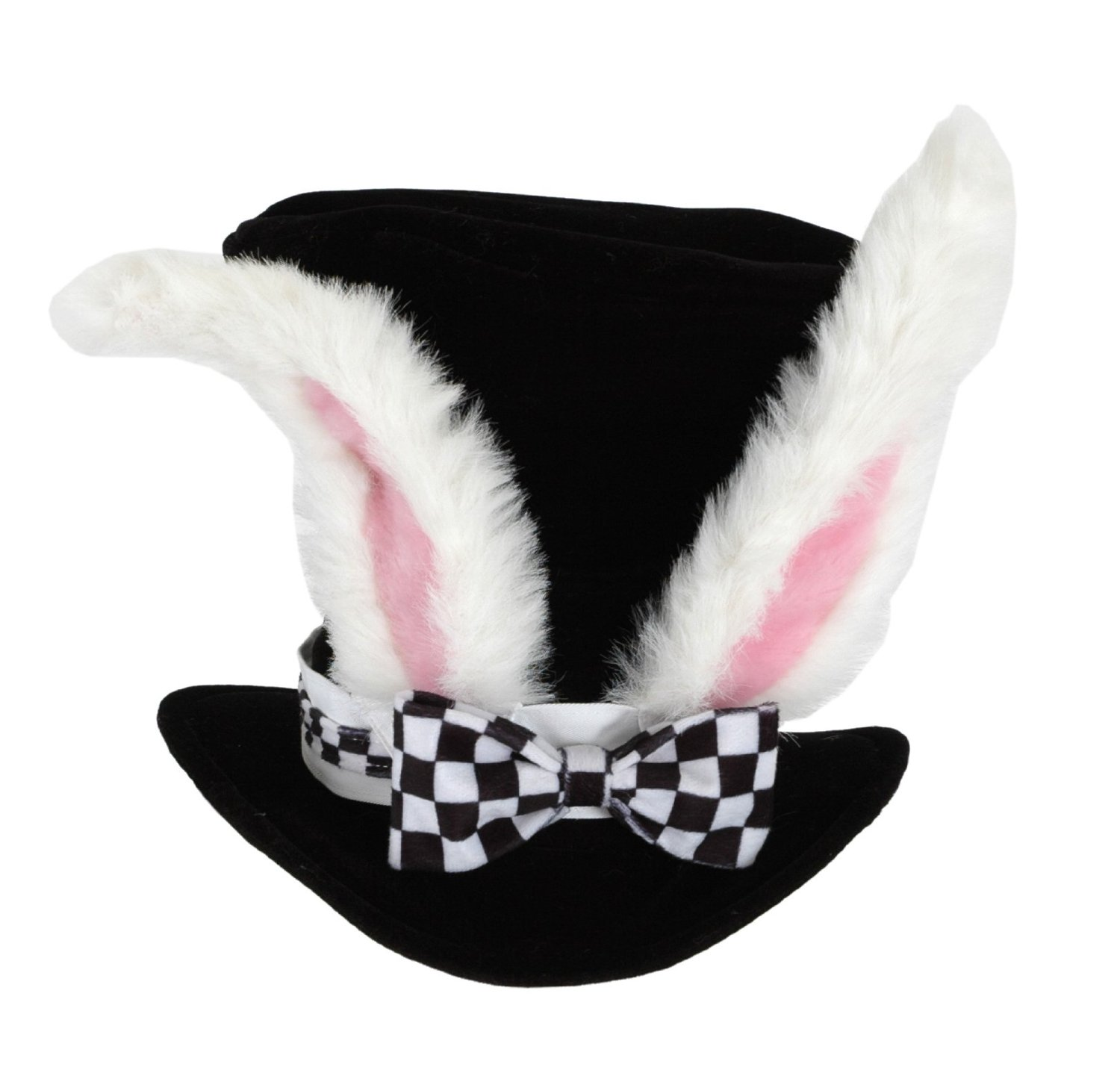 Costume Accessory w// Bendable Ears Adult-Size Century Novelty White Rabbit Hat