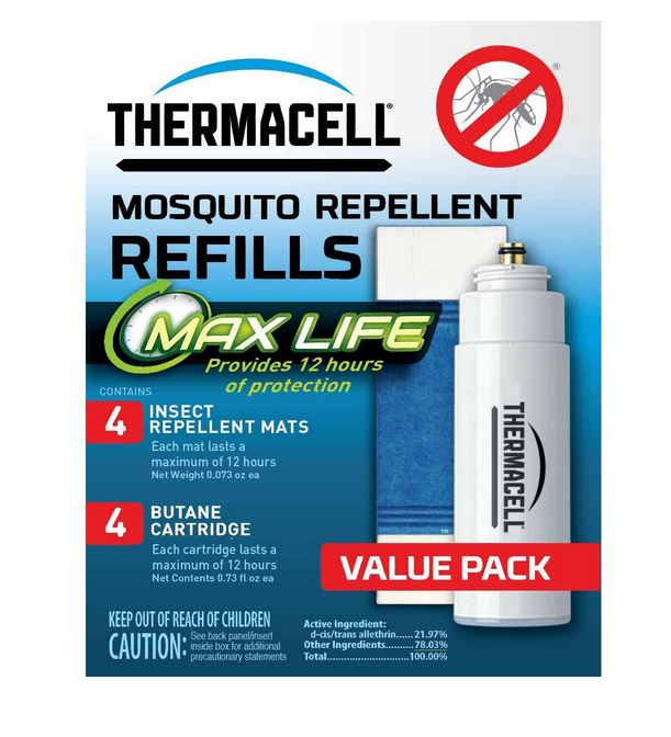 Thermacell Repellents L 4 Max Life Refill Ebay