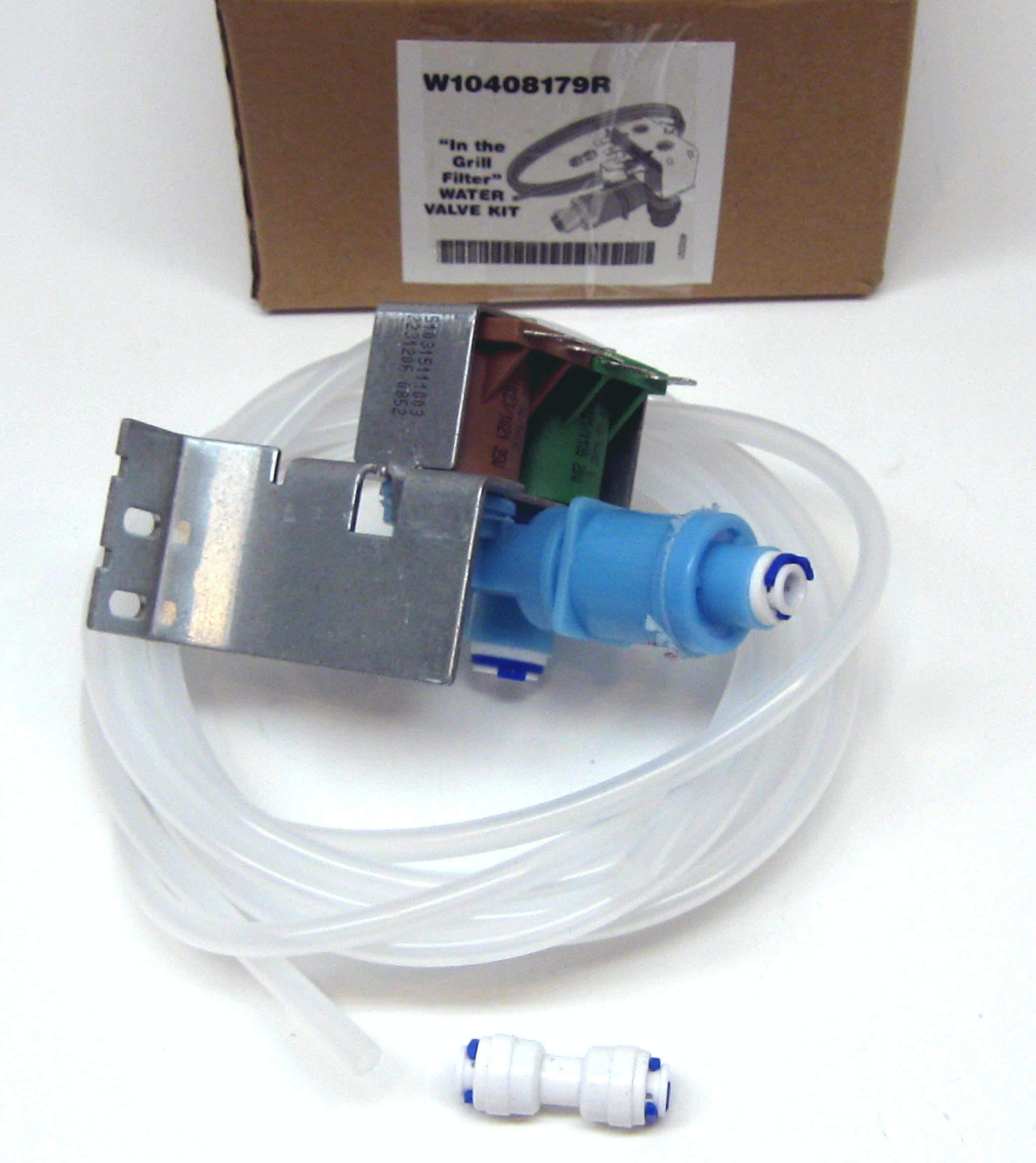 W10408179 for whirlpool kenmore kitchenaid refrigerator water valve for 4389177 ebay - Kitchenaid dishwasher fill valve ...