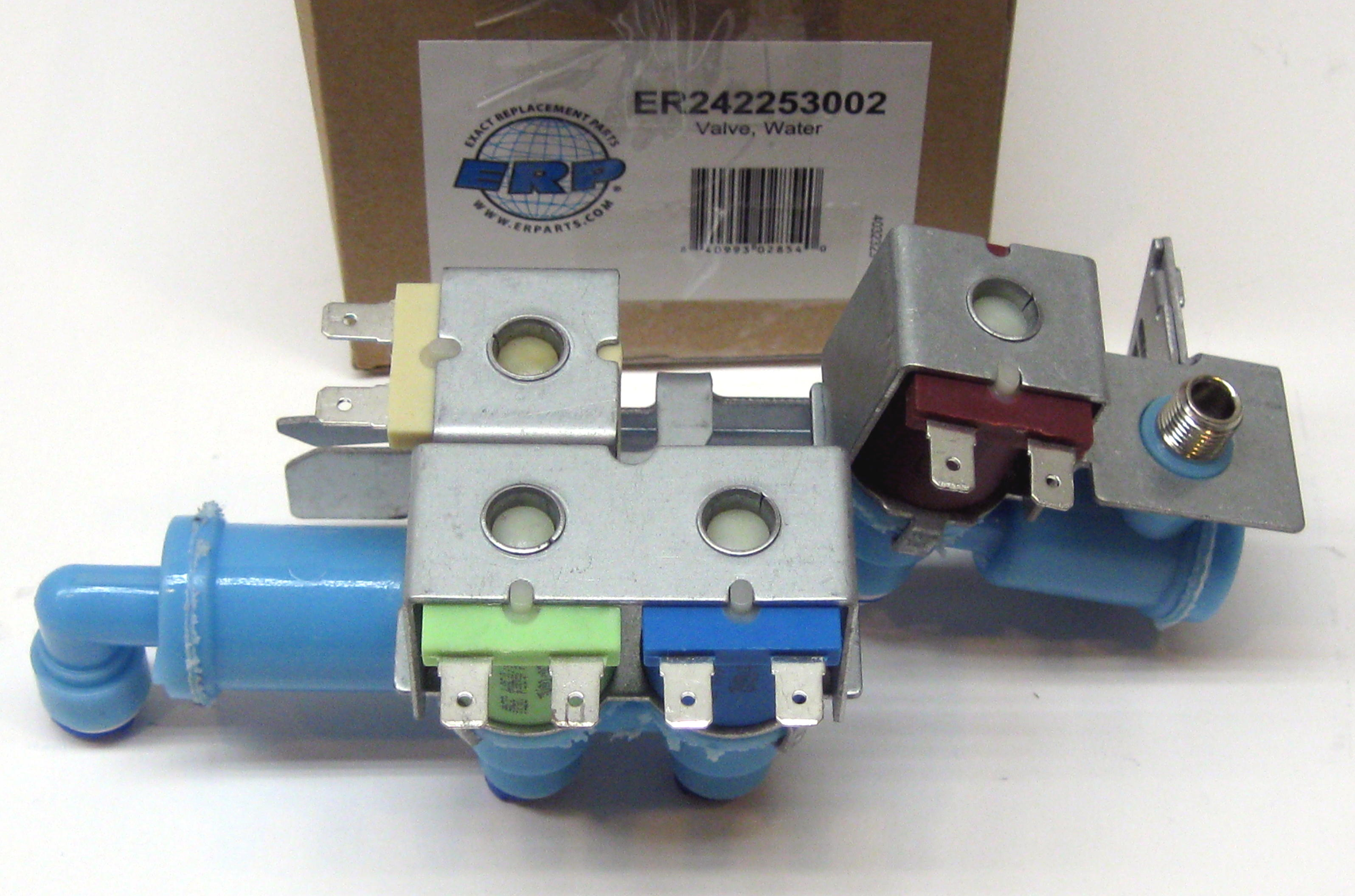 Water Inlet Valve For Electrolux Frigidaire 242253002