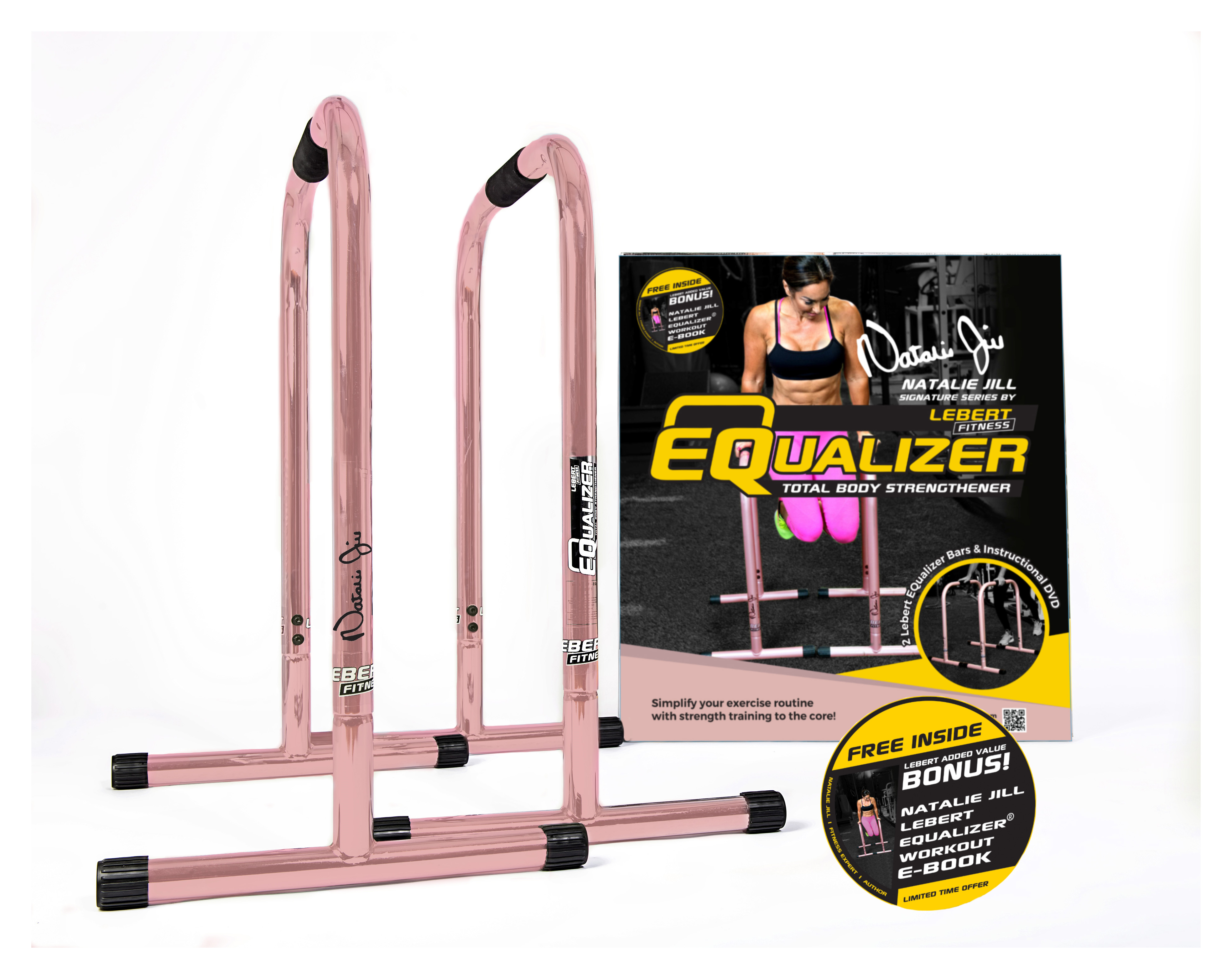 Lebert  Fitness Equalizer - pink gold  will make you satisfied