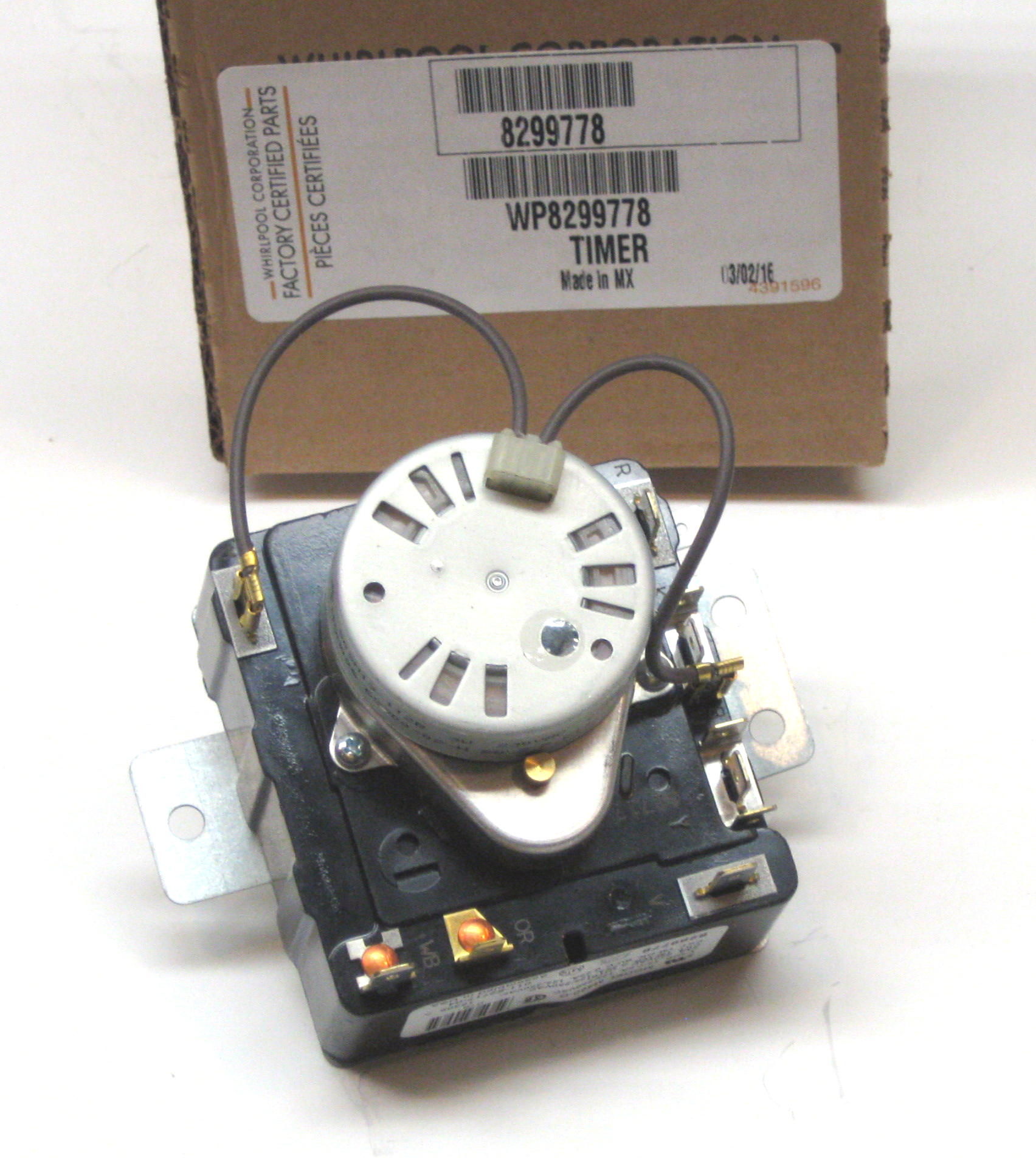 Whirlpool Kenmore Dryer Timer Control 8299778 Wp8299778