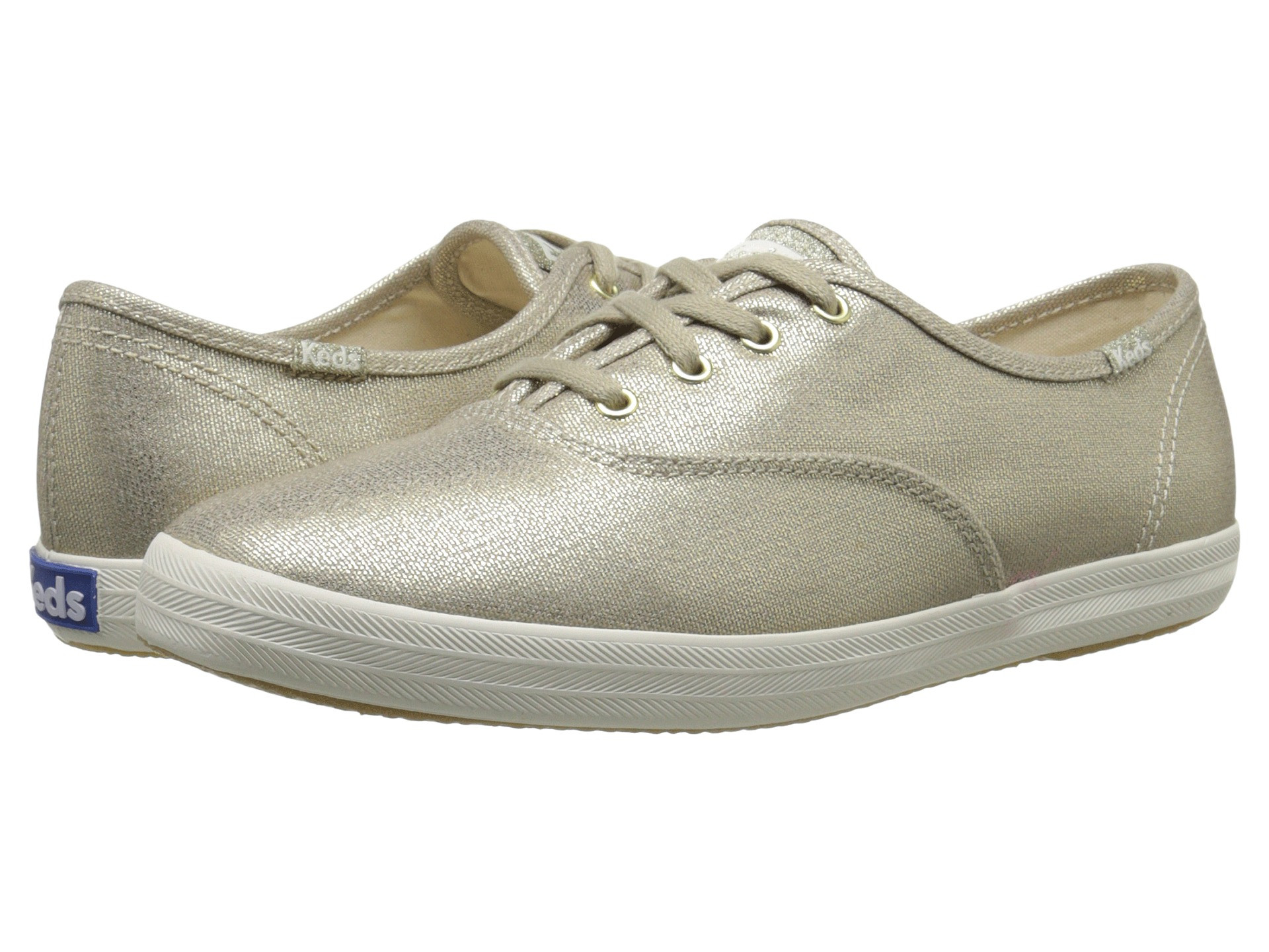 Make a cool and calm update to your outfit with the sweet Champion Metallic  Canvas from Keds.