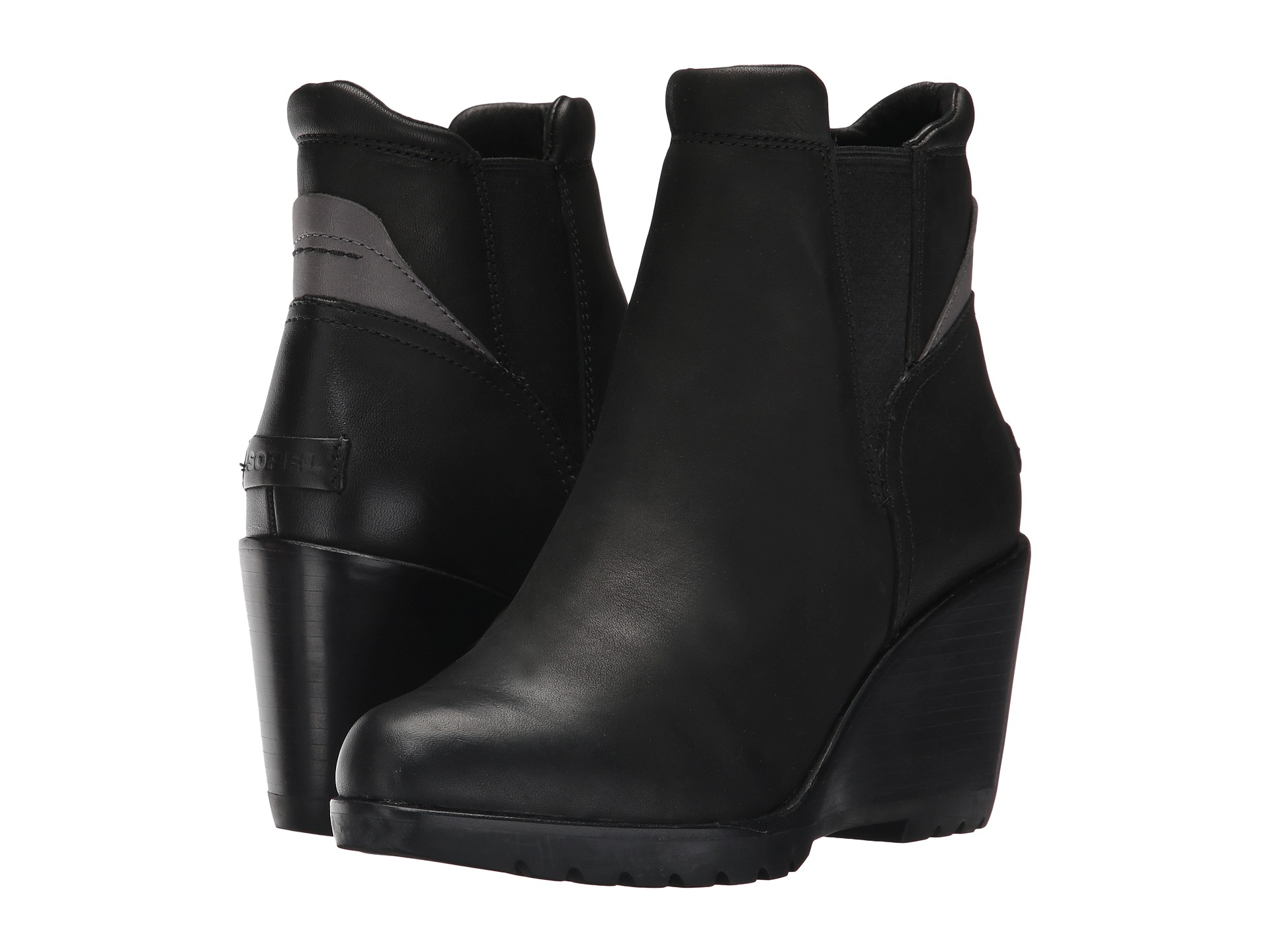 114b4a4acbb A defined tread and a refined waterproof upper make this sleek wedge bootie  a go to for wearing all day (and night) long. The After Hours Chelsea keeps  you ...