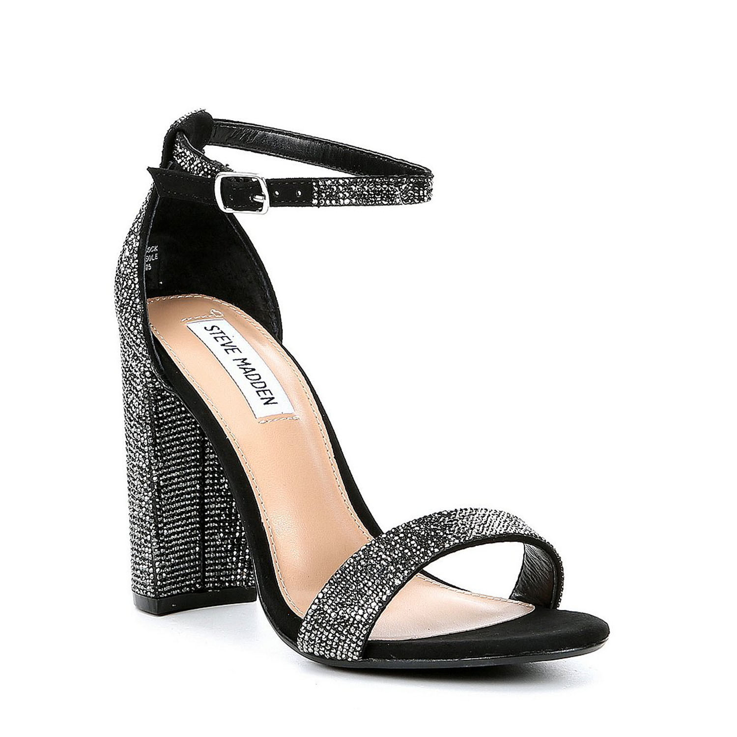 6de25a51c0a Stand tall and sparkle in the latest take on the beloved CARRSON sandal!  Crystal-covered straps elevate the styles formerly basic silhouette