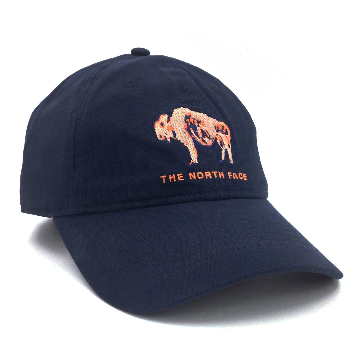 f6c0315fd69 The North Face Men s Canvas Work Ball Cap Bison Navy Blue One Size ...