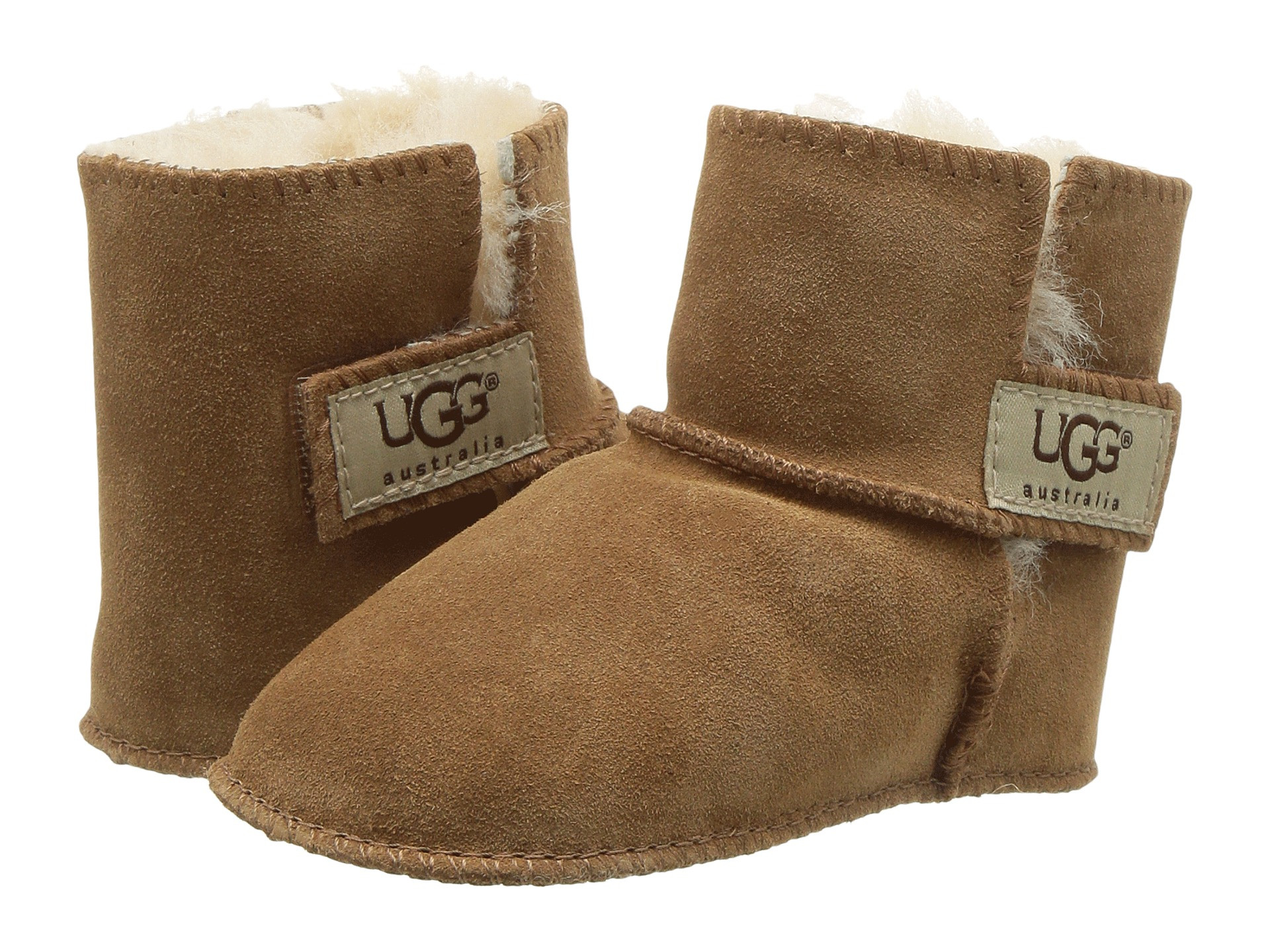 3cb079ed547 Details about UGG ERIN CHESTNUT BROWN INFANT'S BOOTIES SHOES 5202