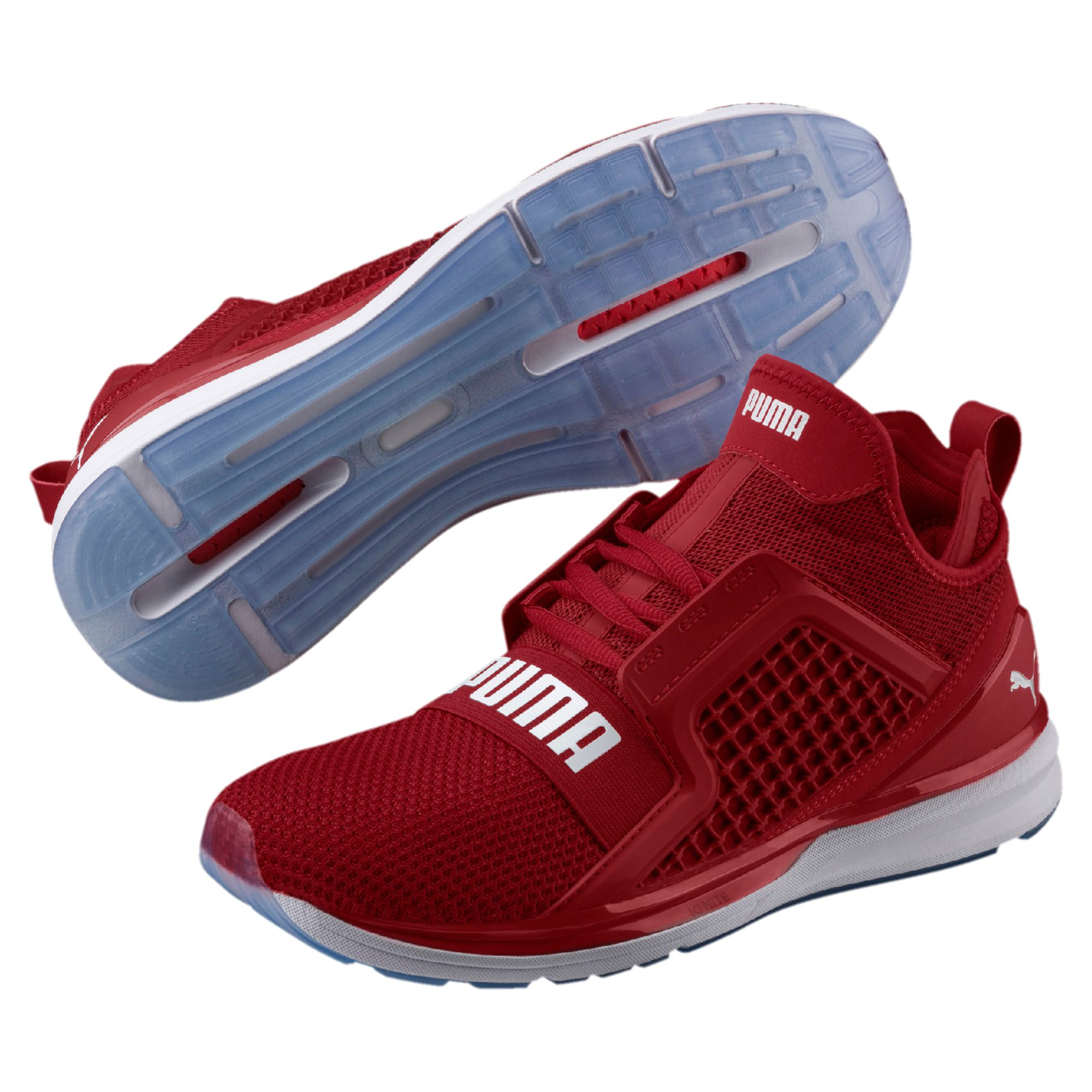 outlet store 54c2f c08ea Details about PUMA Ignite Limitless Weave Sneaker Men | Red (19050303)
