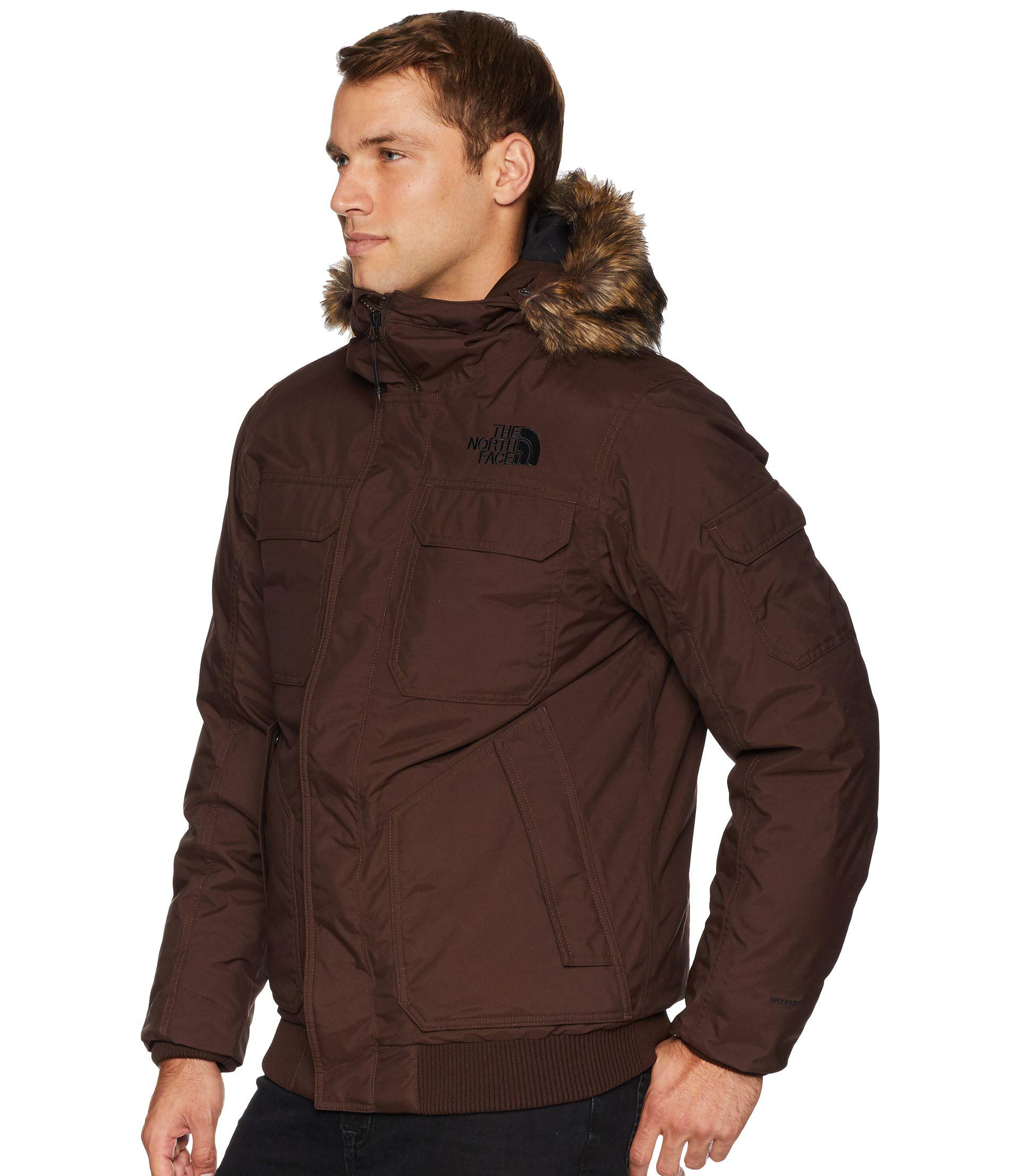 913204679 Details about The North Face Gotham III Men NF0A33RG Brownie Brown